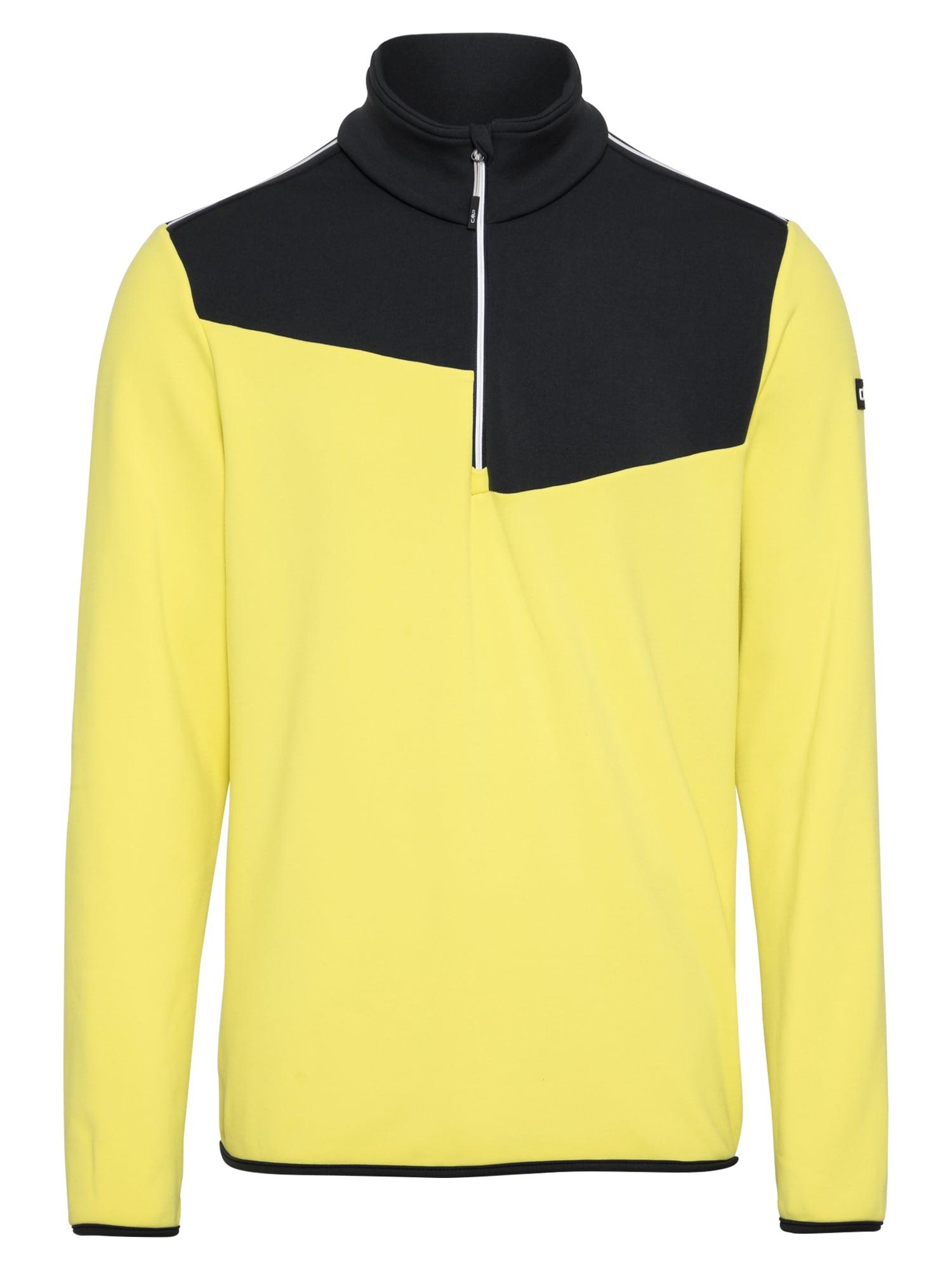 CMP Sportovní mikina  žlutá / černá