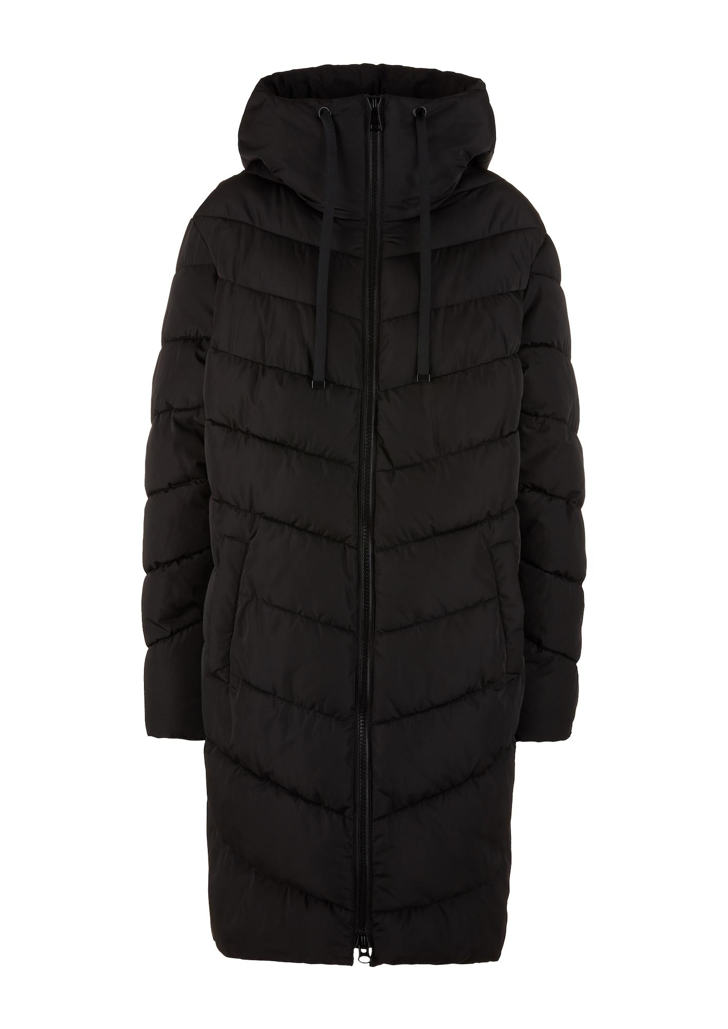 TRIANGLE Demisezoninis paltas juoda / geltona