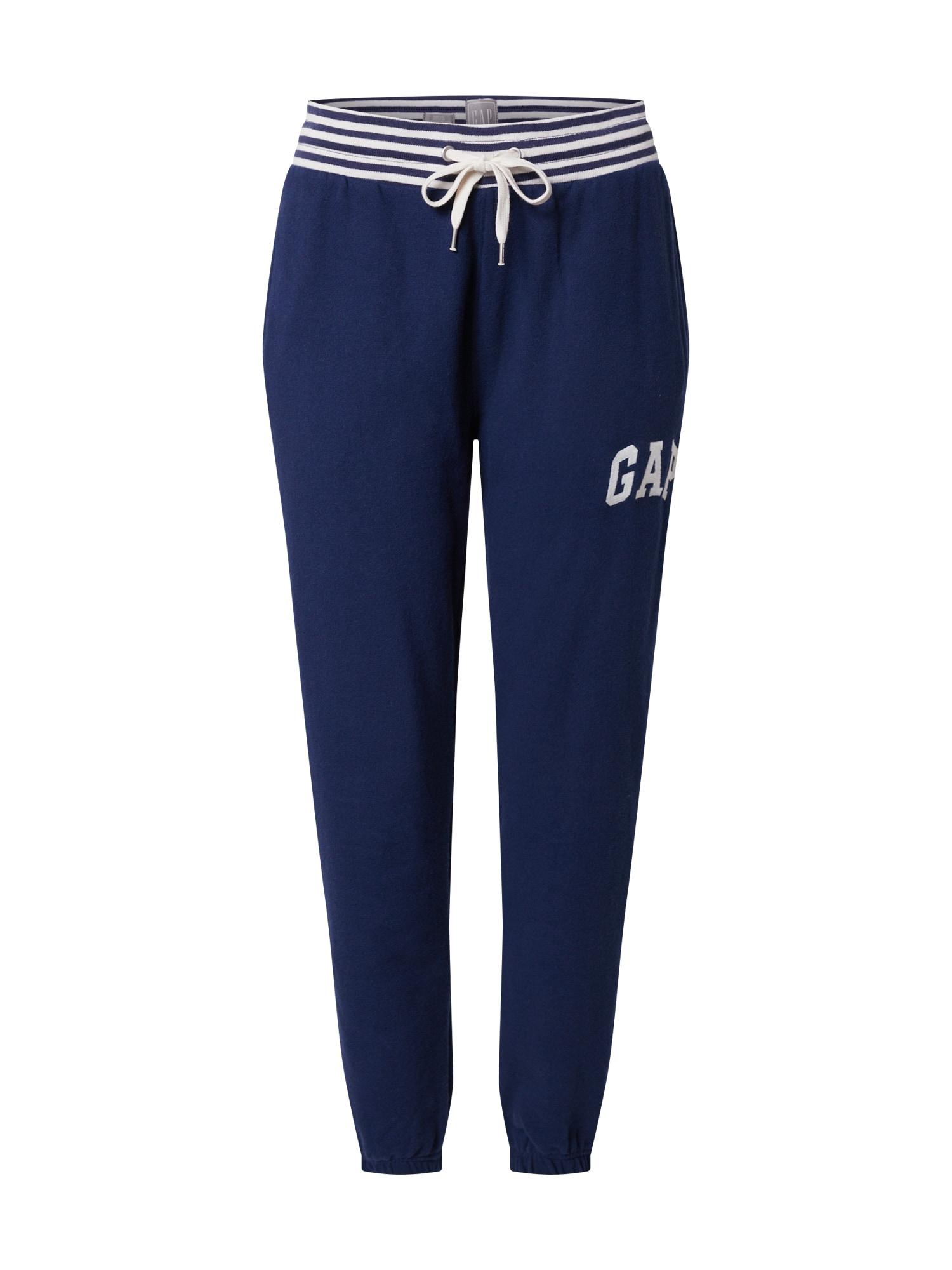 GAP Kalhoty  modrá / bílá