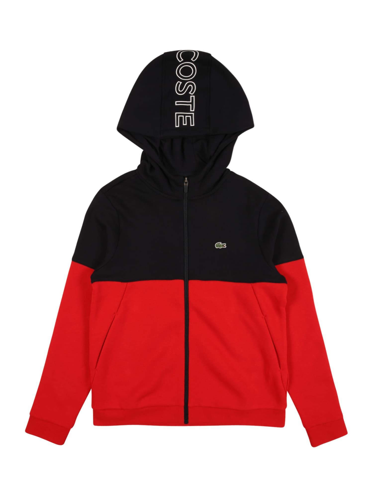 LACOSTE Džemperis raudona / balta