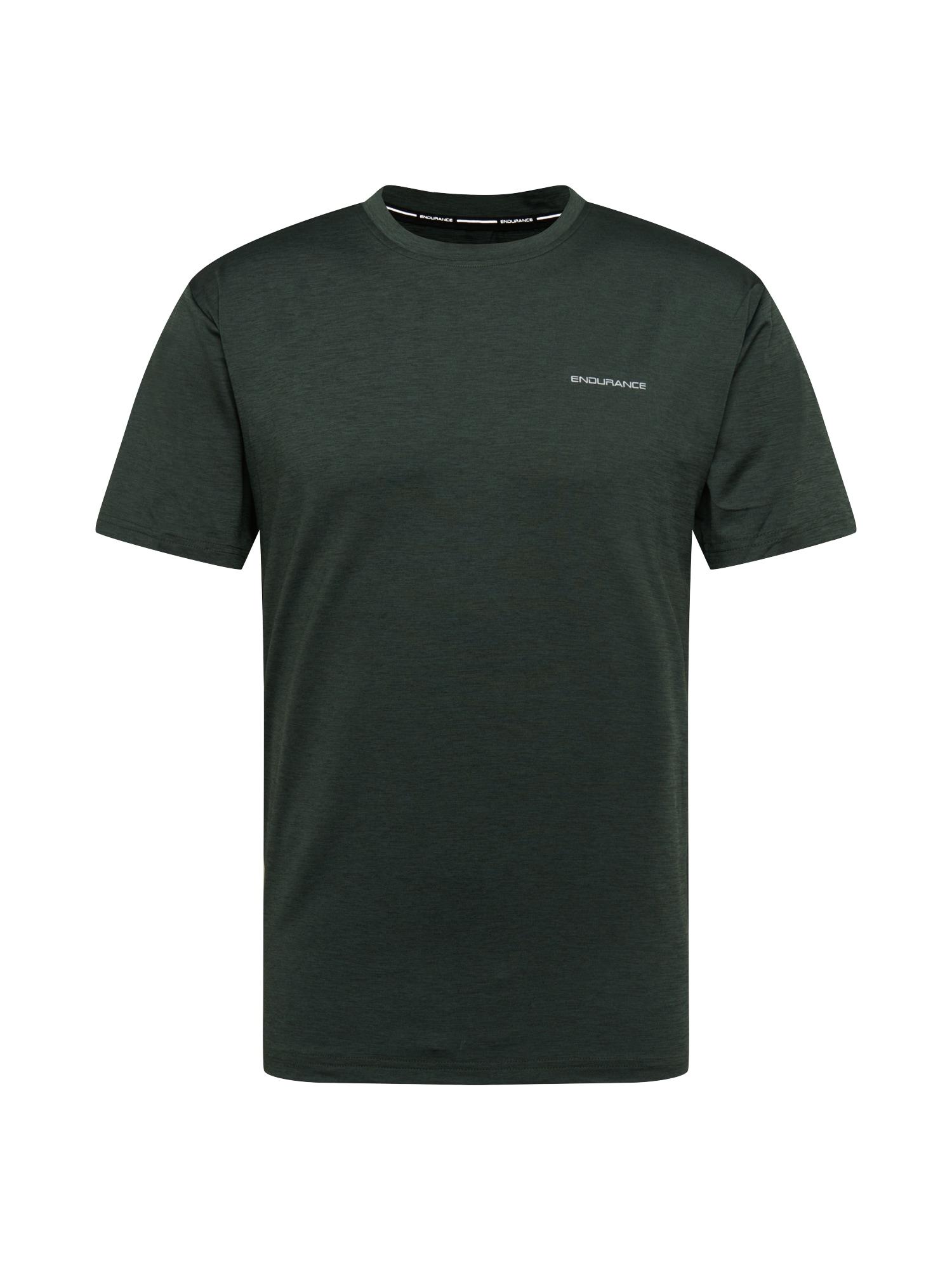 ENDURANCE Funkční tričko 'Mell'  tmavě zelená