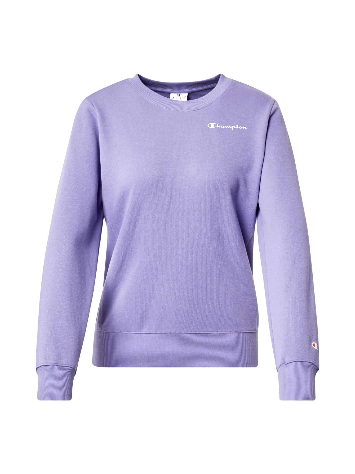 Champion Authentic Athletic Apparel Megztinis be užsegimo levandų spalva / balta