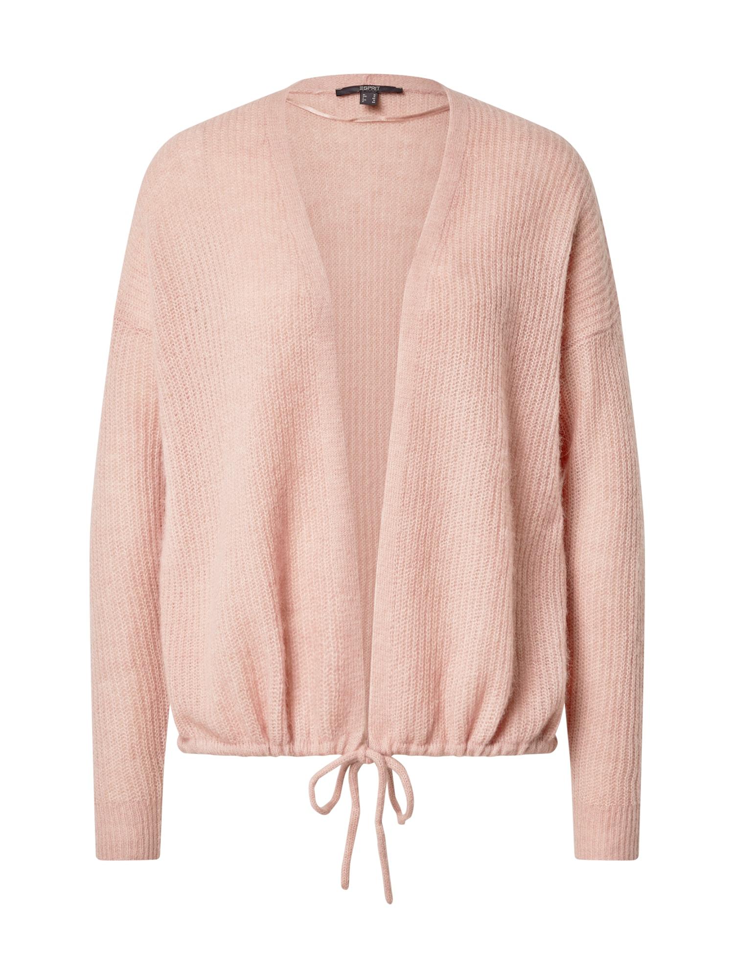 Esprit Collection Kardiganas šviesiai rožinė