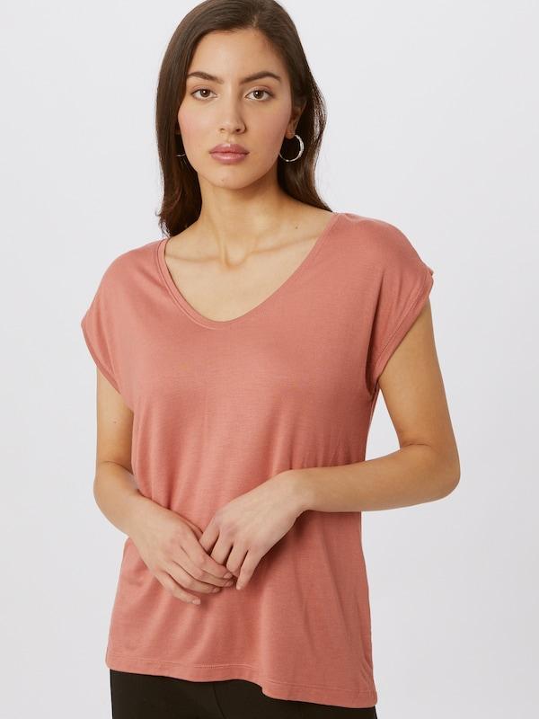 Pieces Billo Essential Rundhals-T-Shirt mit Flügelärmeln