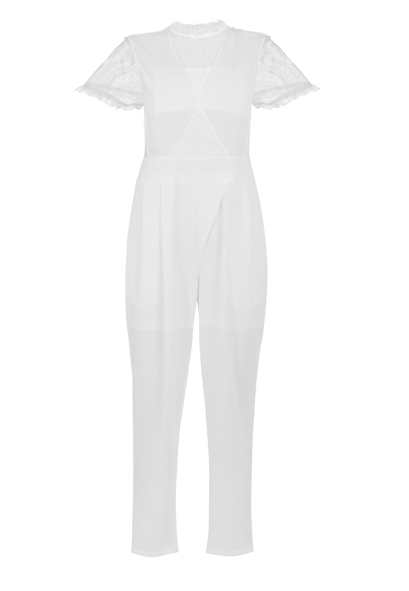 faina Vienos dalies kostiumas balta
