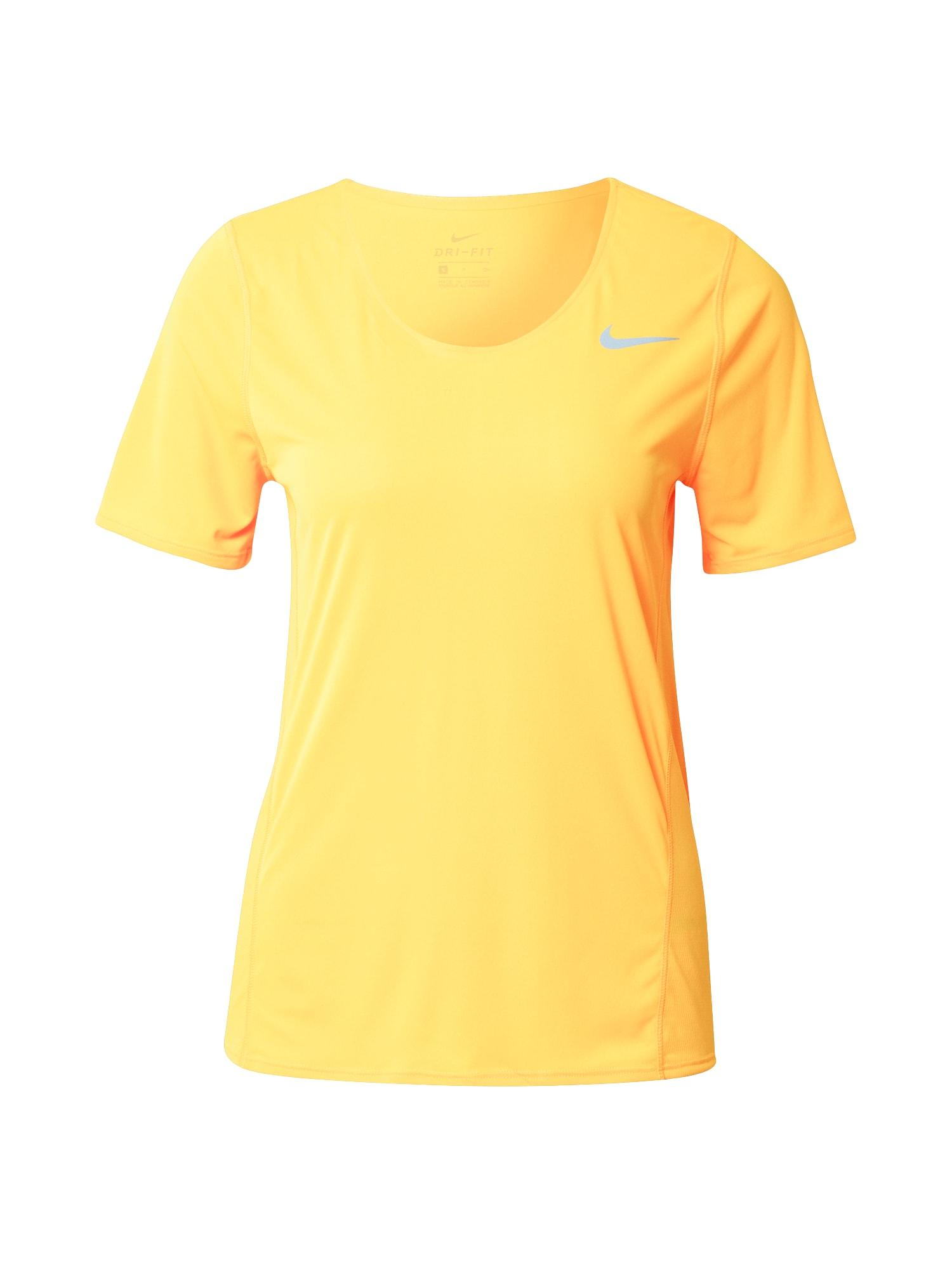 NIKE Funkční tričko 'City'  oranžová