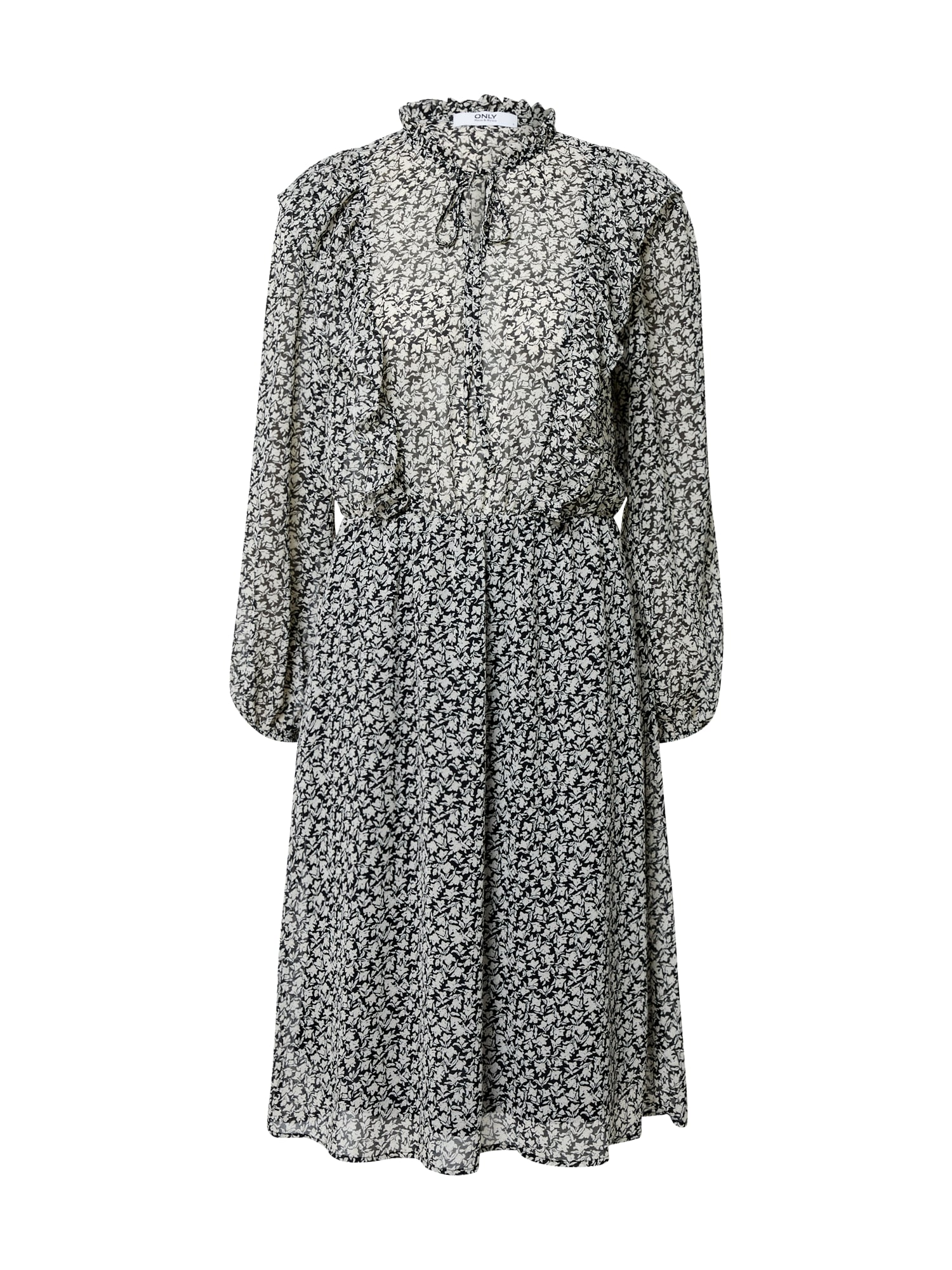 ONLY Šaty 'Allison'  šedá / mix barev