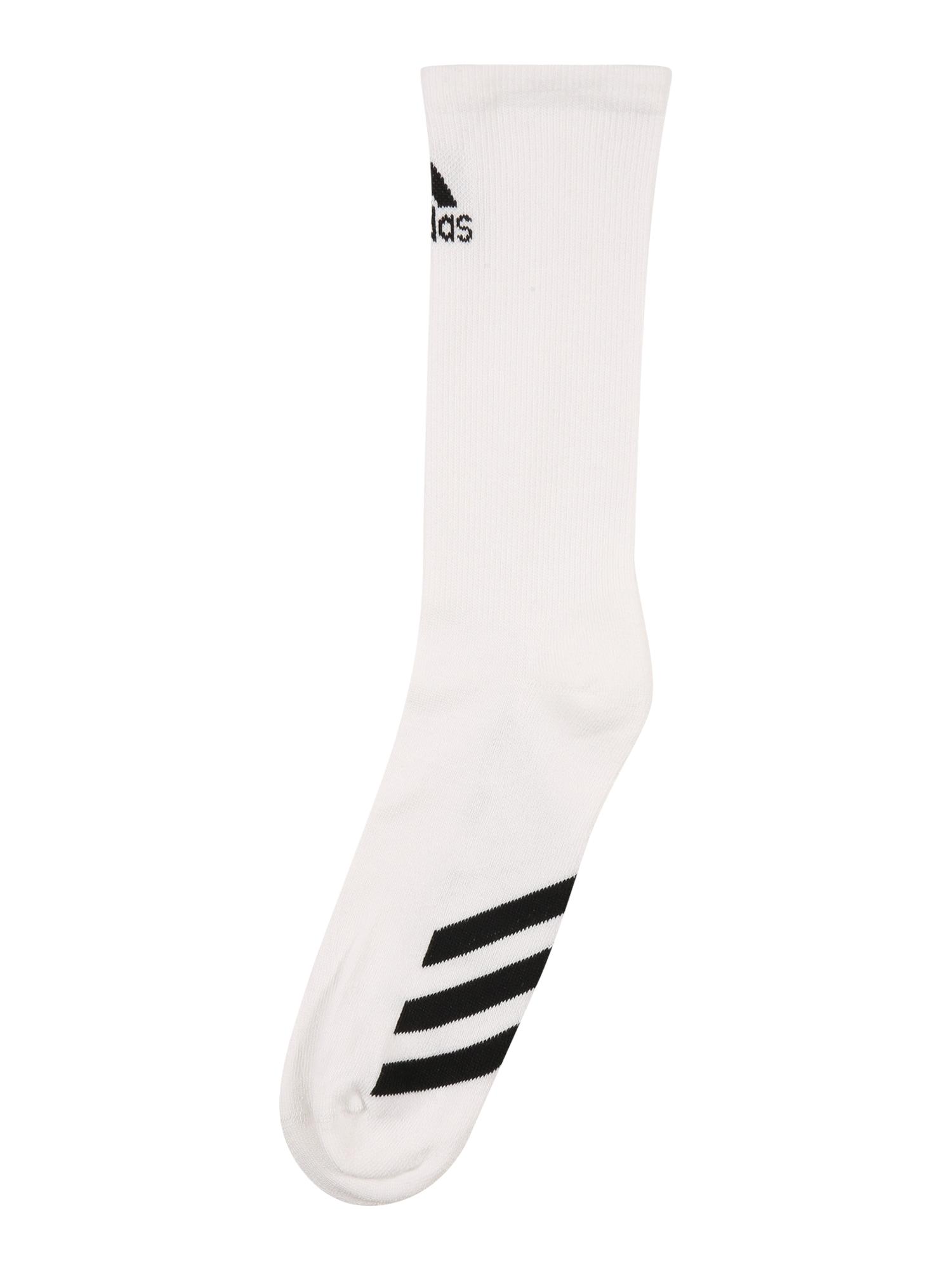 adidas Golf Sportinės kojinės balta / juoda