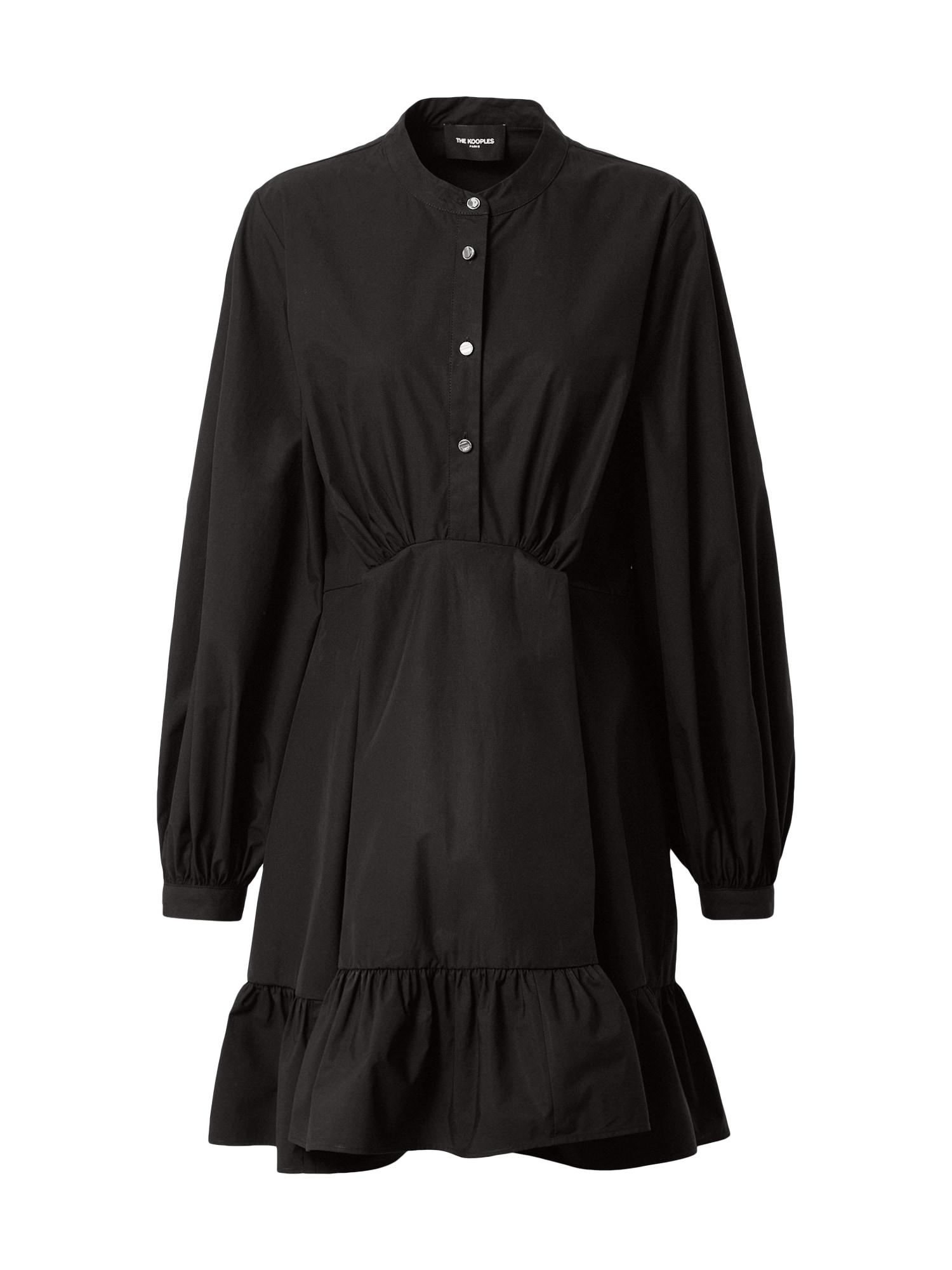 The Kooples Palaidinės tipo suknelė juoda