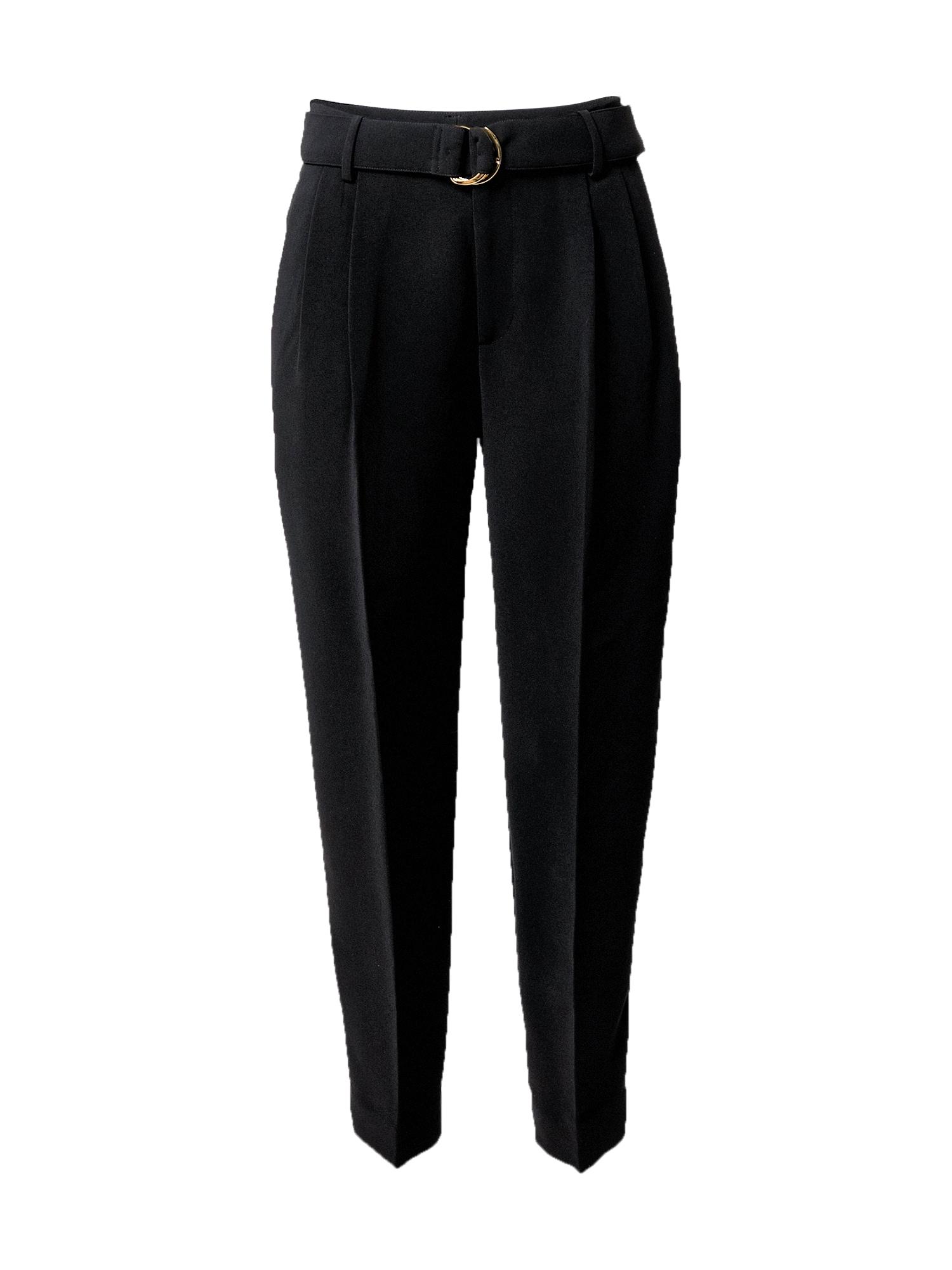 Lauren Ralph Lauren Klostuotos kelnės juoda