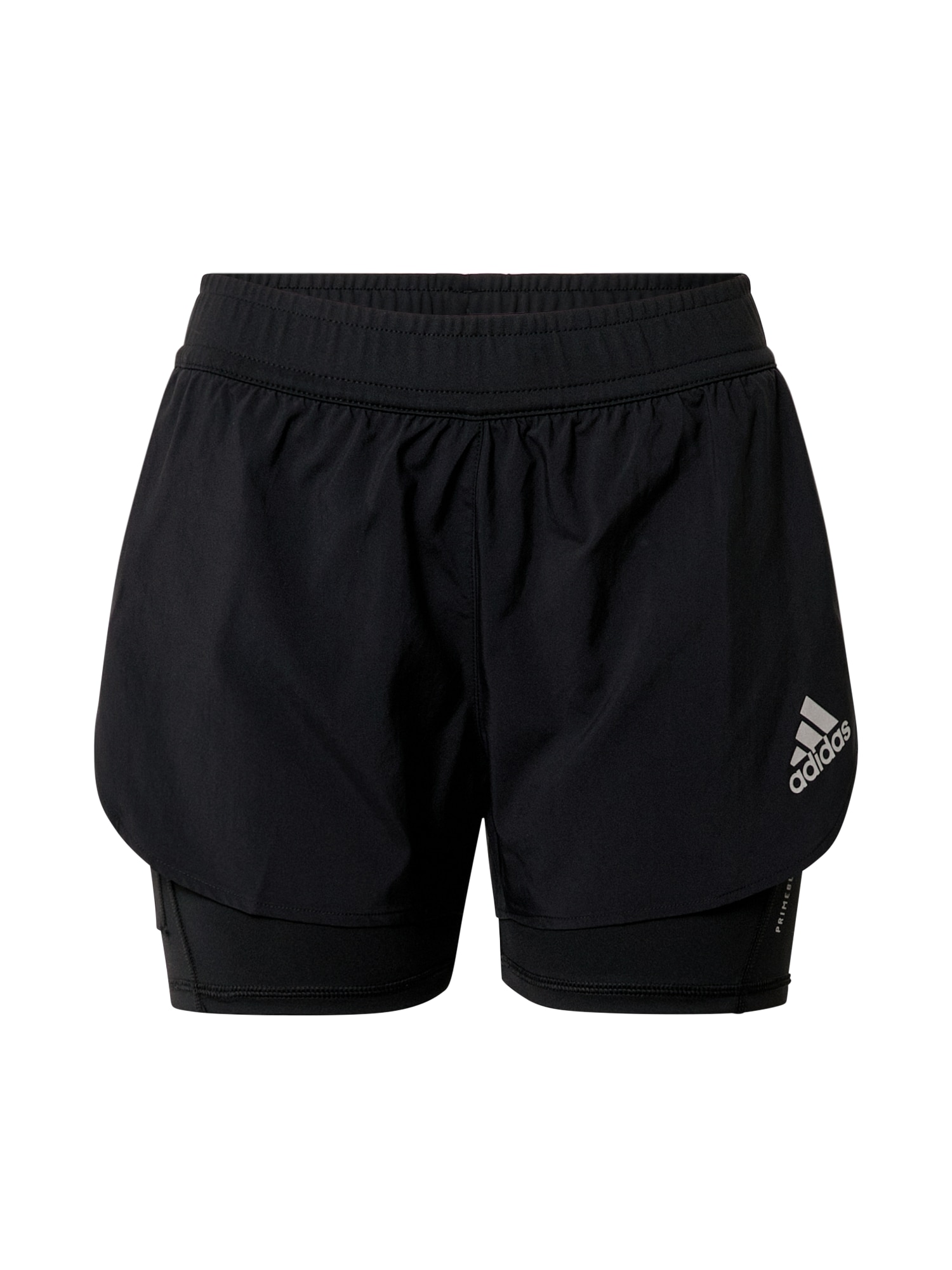 ADIDAS PERFORMANCE Sportinės kelnės juoda / šviesiai pilka
