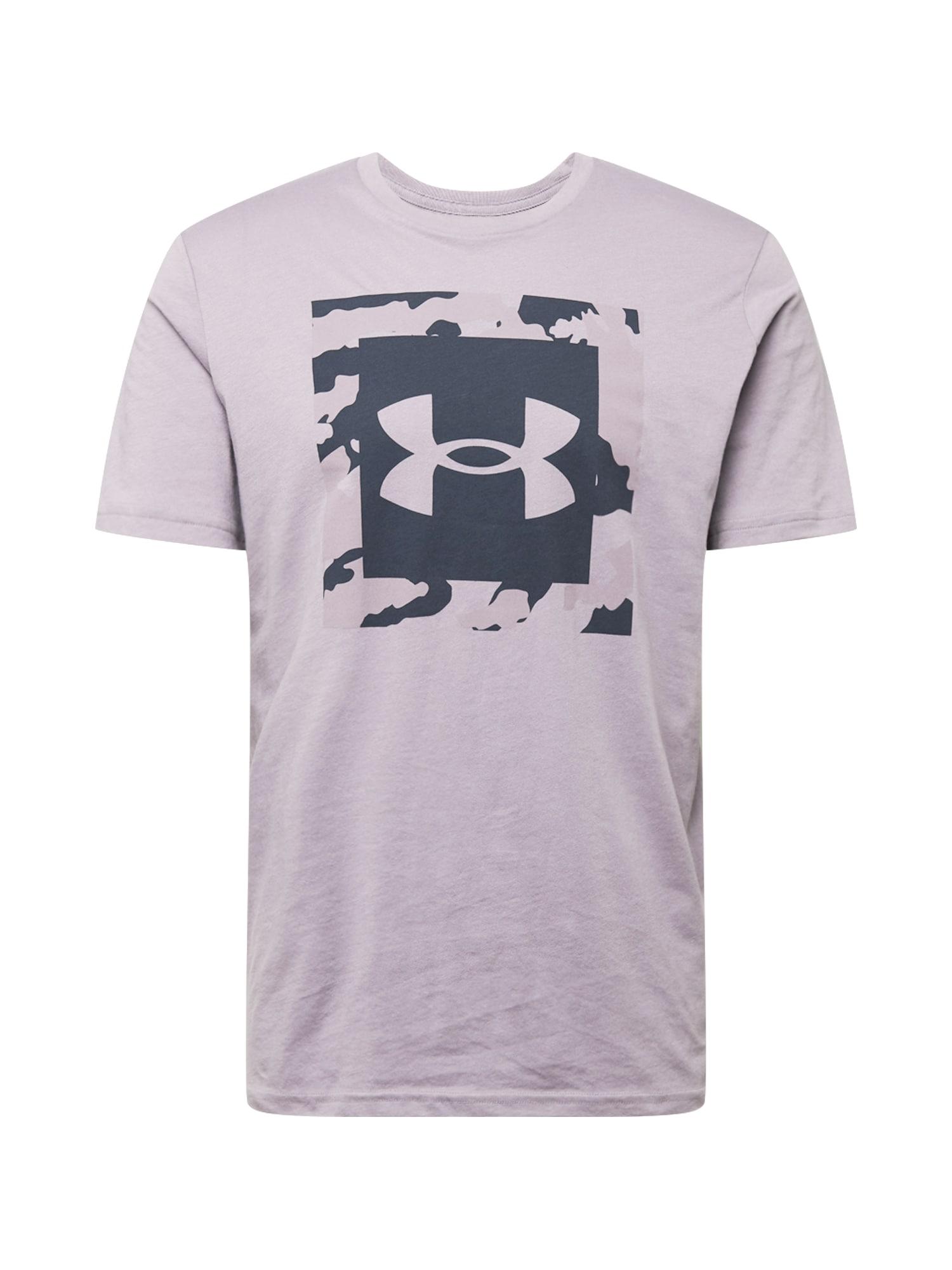 UNDER ARMOUR Funkční tričko  šeříková / tmavě šedá