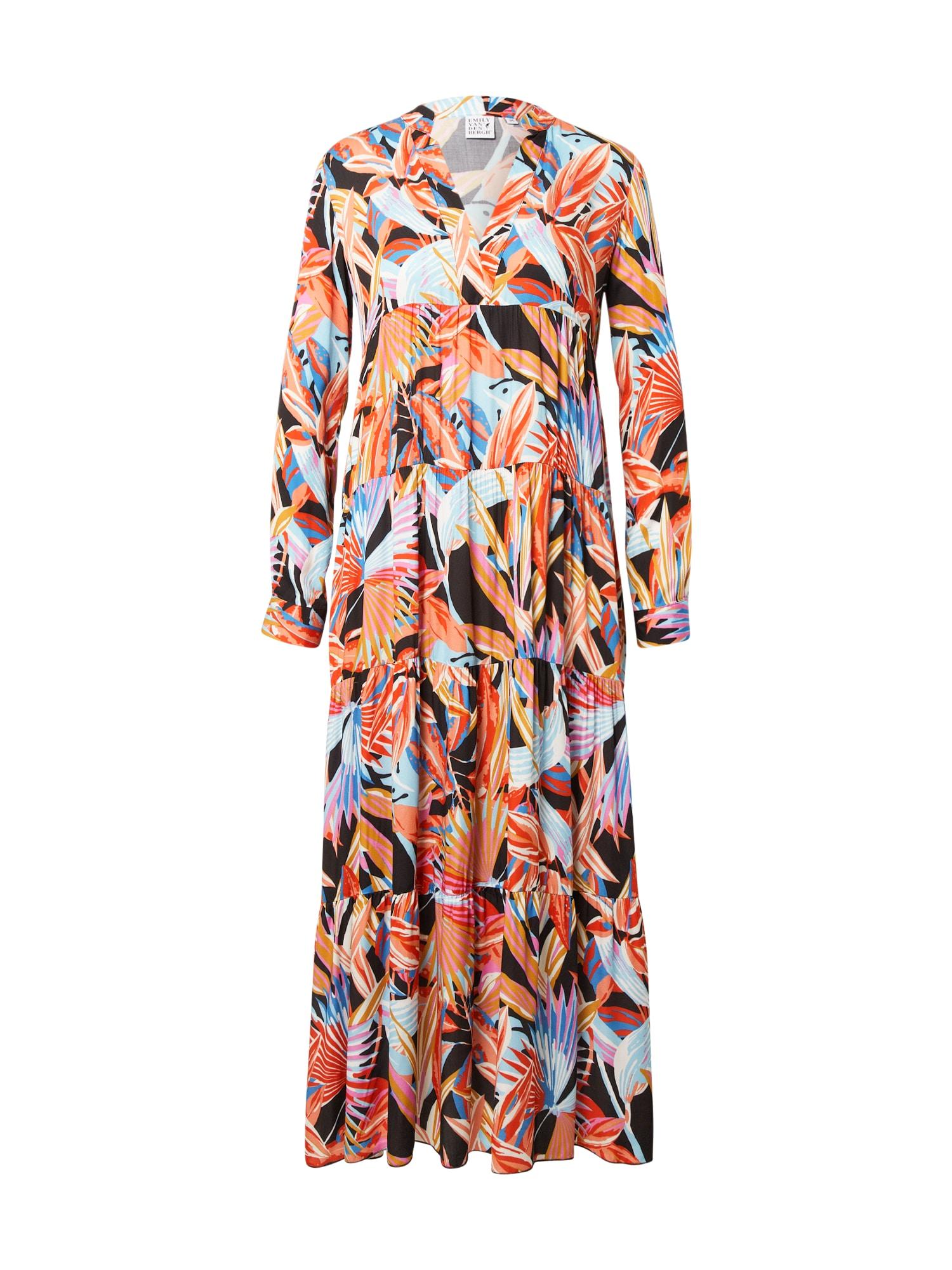 Emily Van Den Bergh Suknelė mišrios spalvos / šviesiai mėlyna / purpurinė / balta