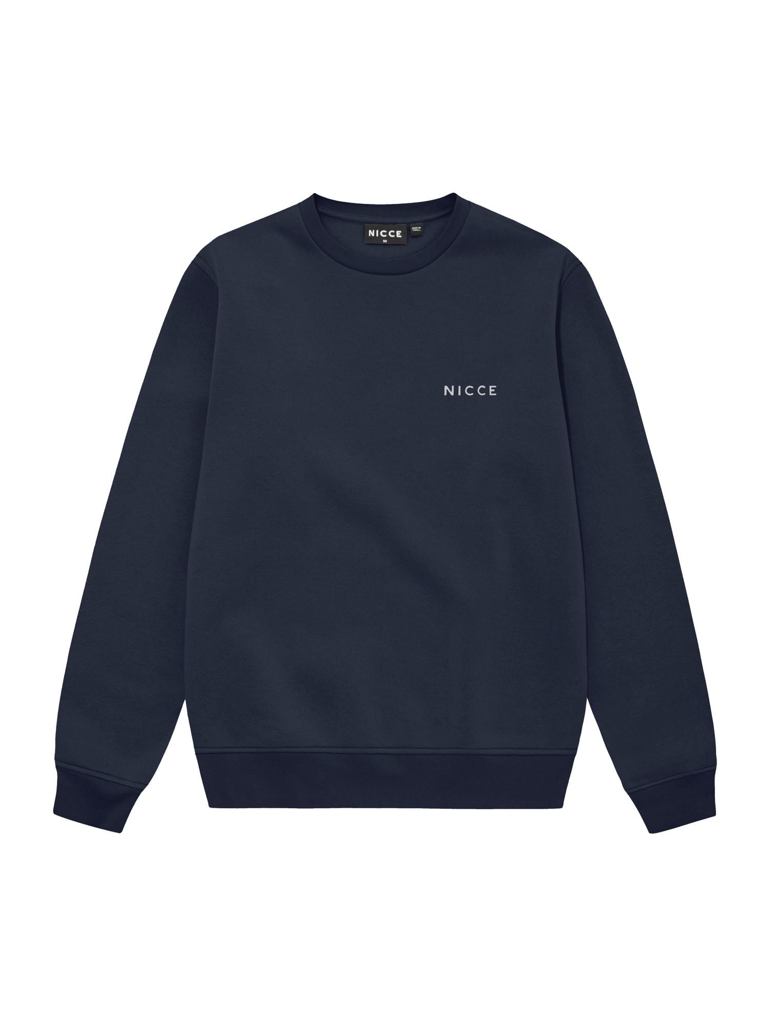 Nicce Megztinis be užsegimo tamsiai mėlyna / balta