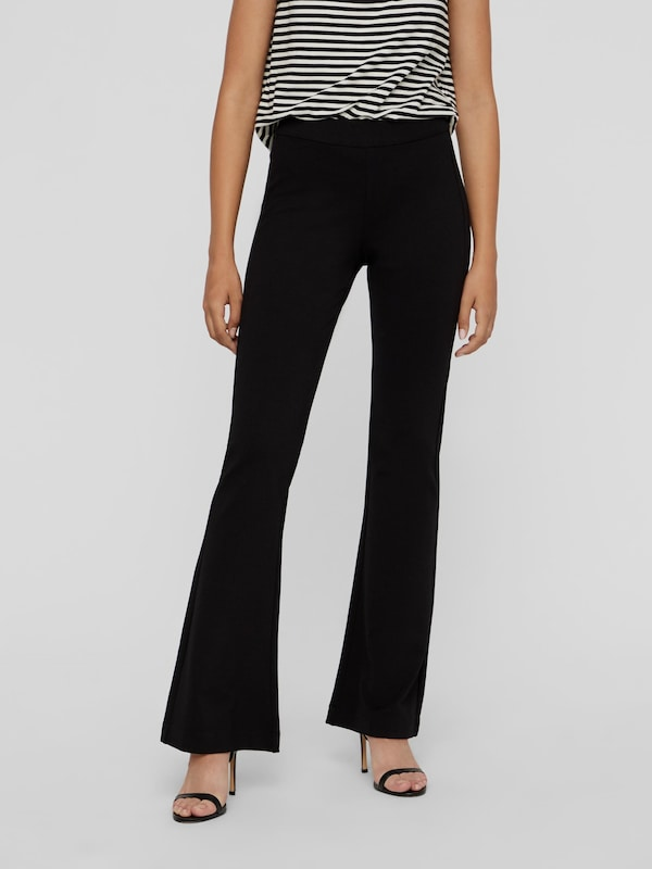 Vero Moda Kamma Weite Jersey-Hose mit normaler Taille
