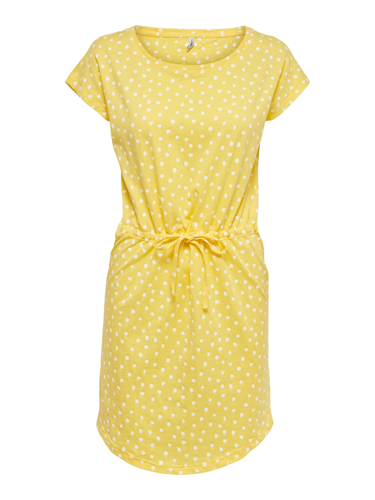 ONLY Šaty 'May'  žlutá / bílá