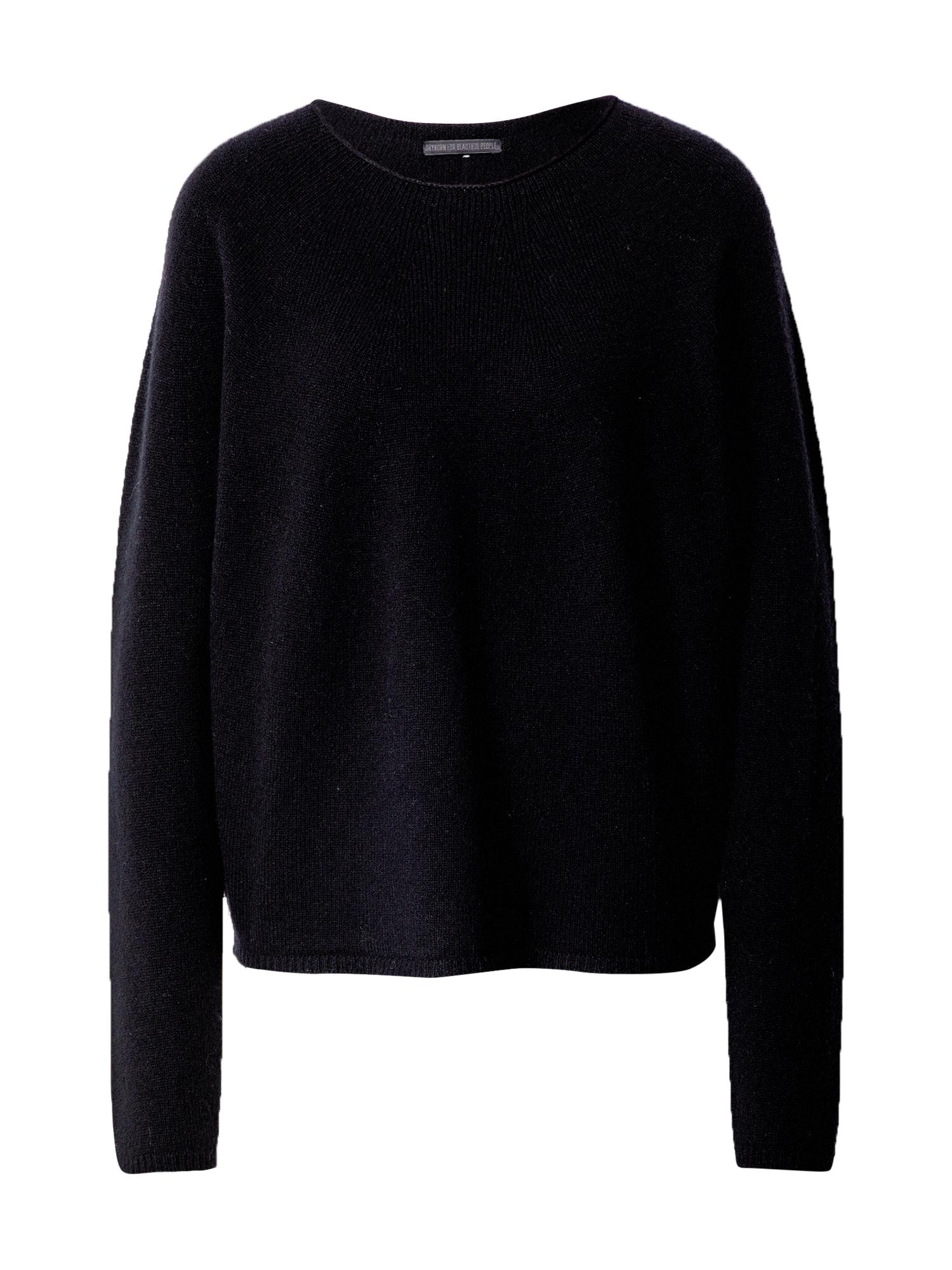 DRYKORN Megztinis 'MAILA' juoda