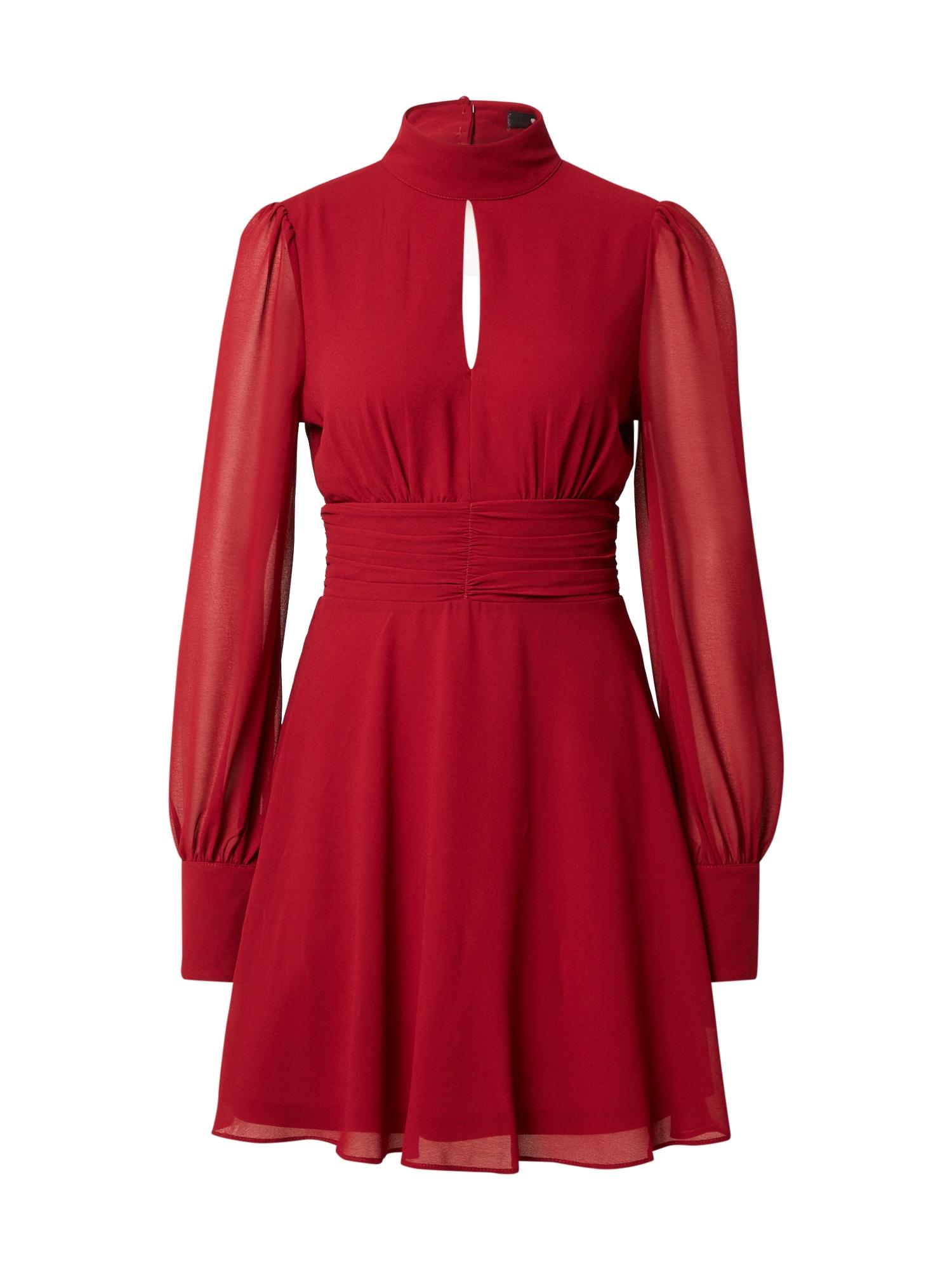 TFNC Kokteilinė suknelė kraujo spalva