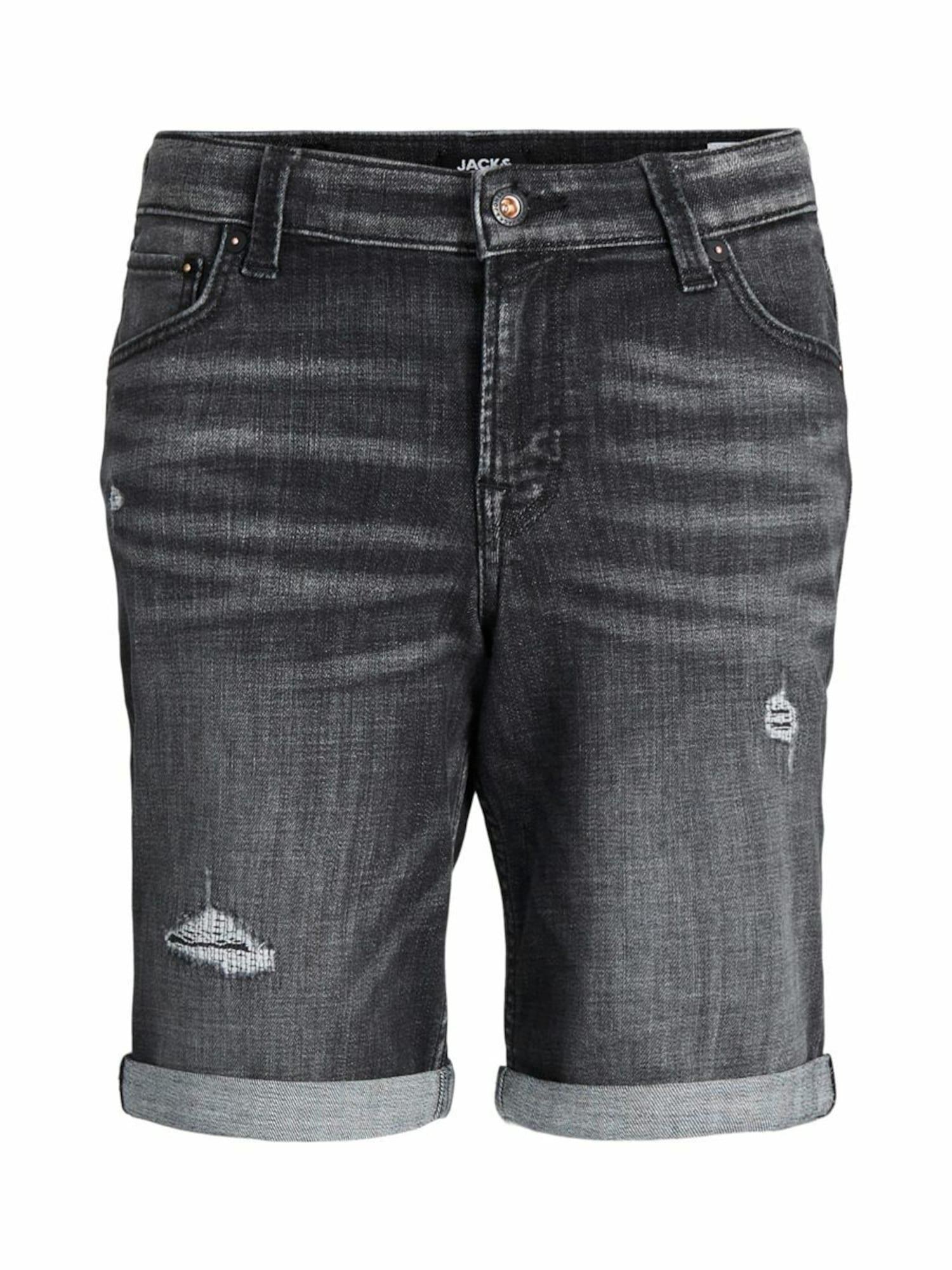 Jack & Jones Junior Džinsai juodo džinso spalva