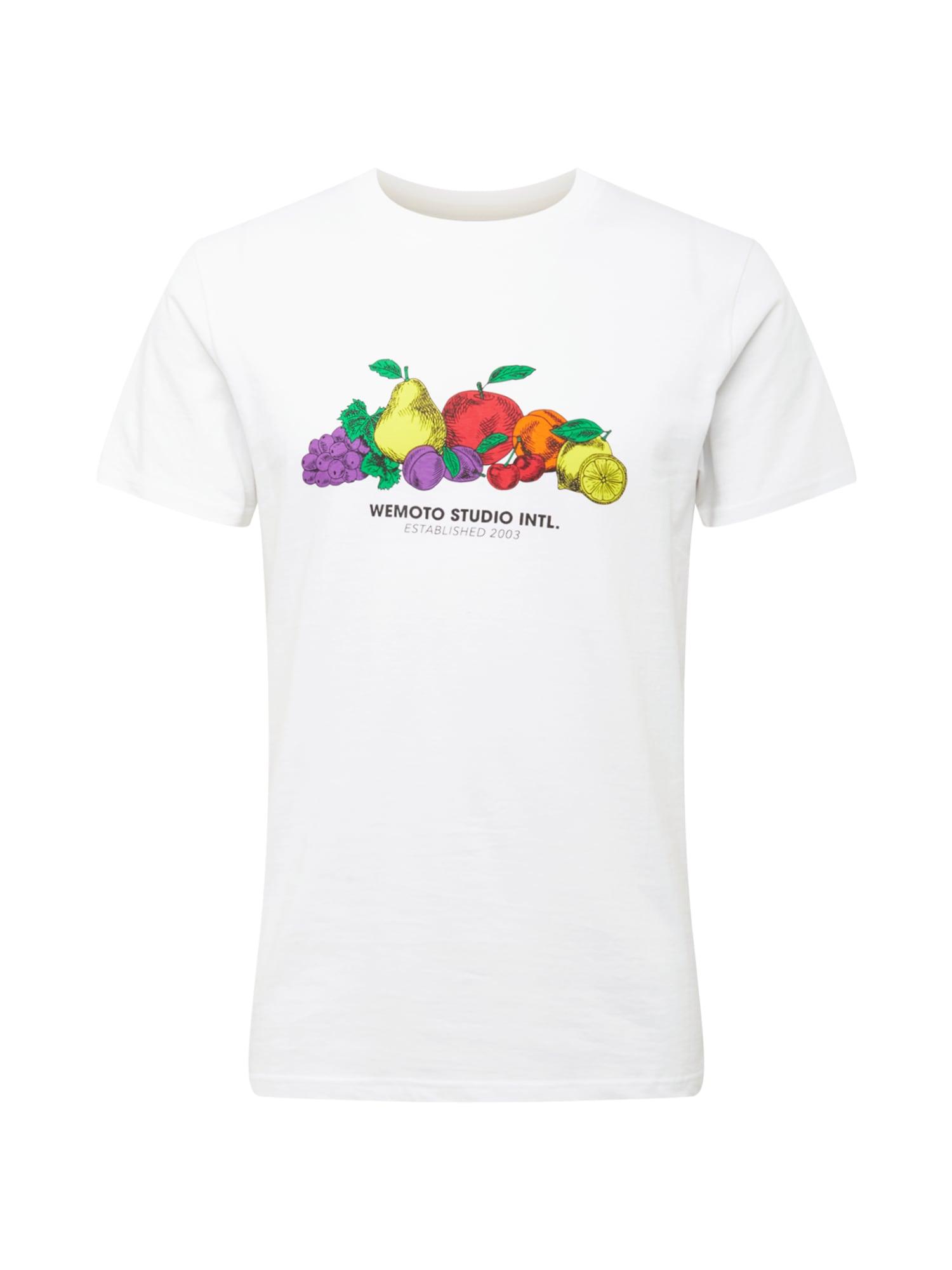 Wemoto Marškinėliai balta / neoninė violetinė / žolės žalia / neoninė oranžinė / žaliosios citrinos spalva