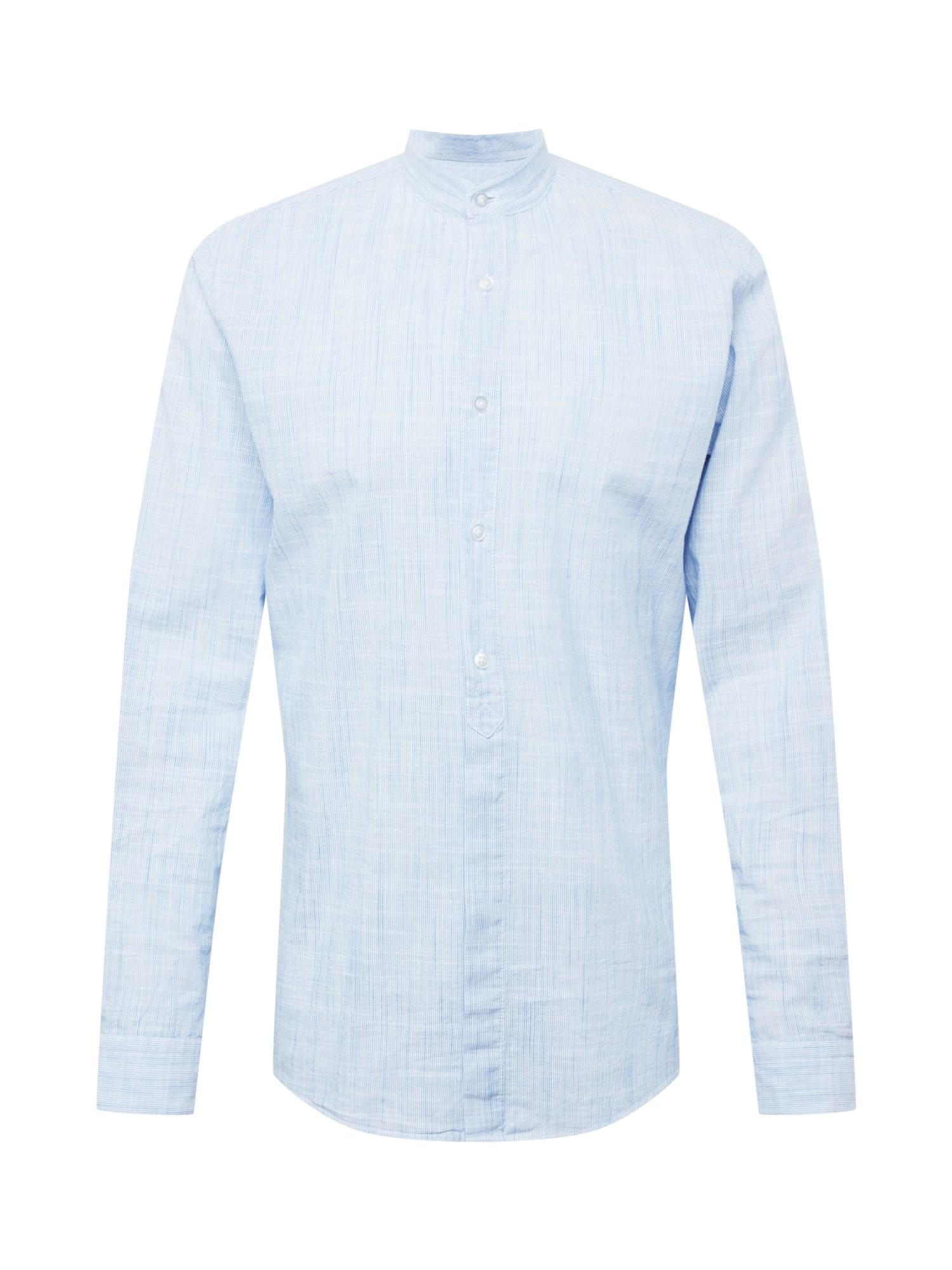 STRELLSON Marškiniai šviesiai mėlyna / dangaus žydra / balta