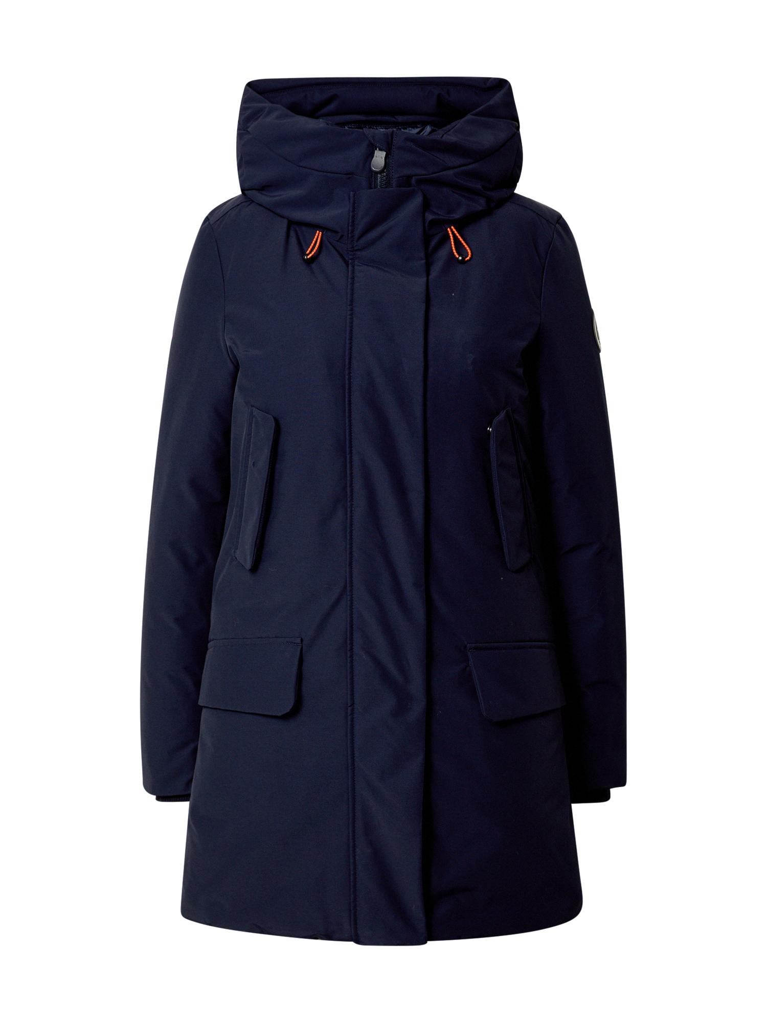 SAVE THE DUCK Zimní kabát 'Cappotto Cappuccio'  tmavě modrá