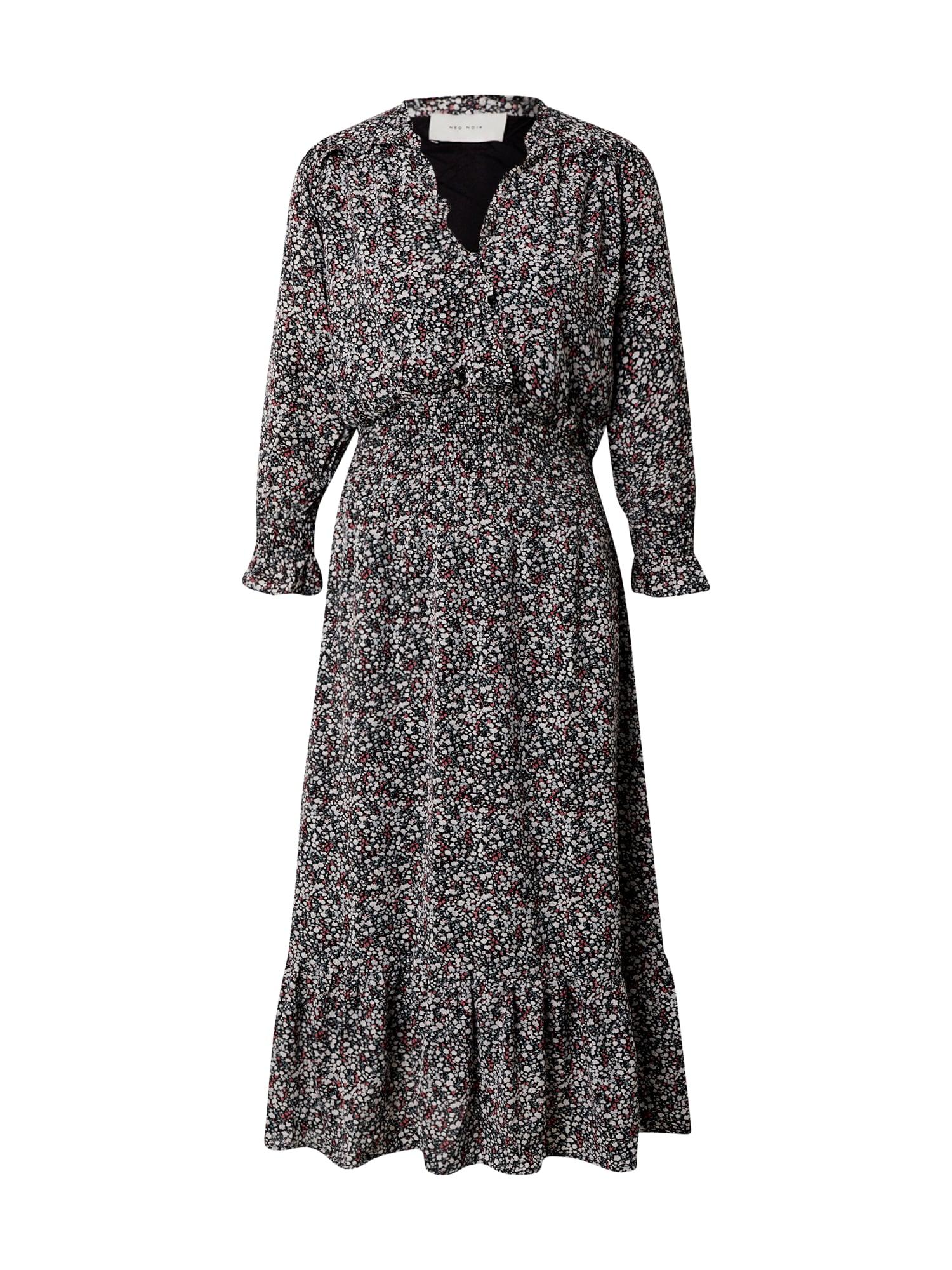 Neo Noir Šaty 'Jenna'  černá / mix barev