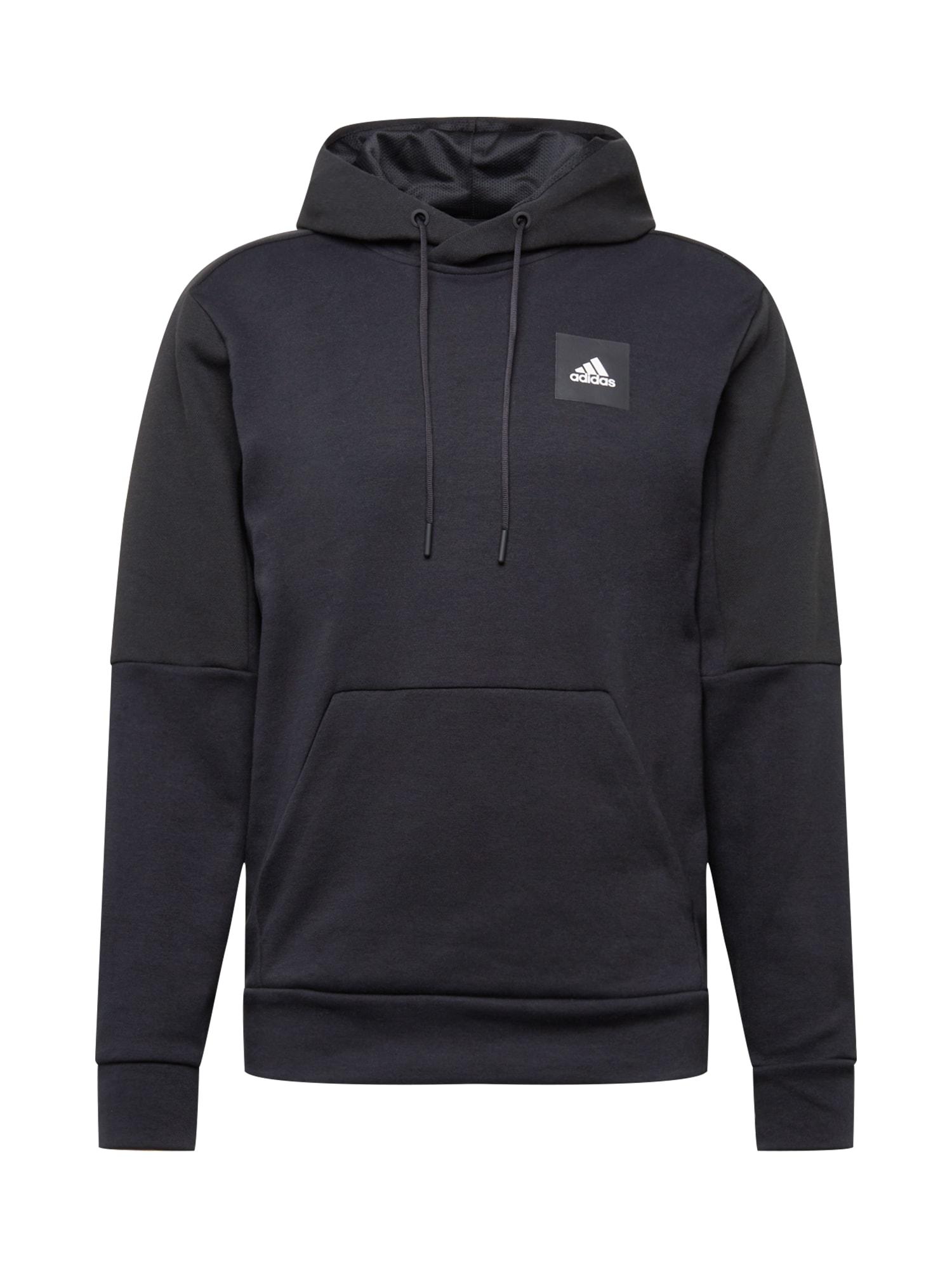 ADIDAS PERFORMANCE Sportinio tipo megztinis 'STADIUM' juoda