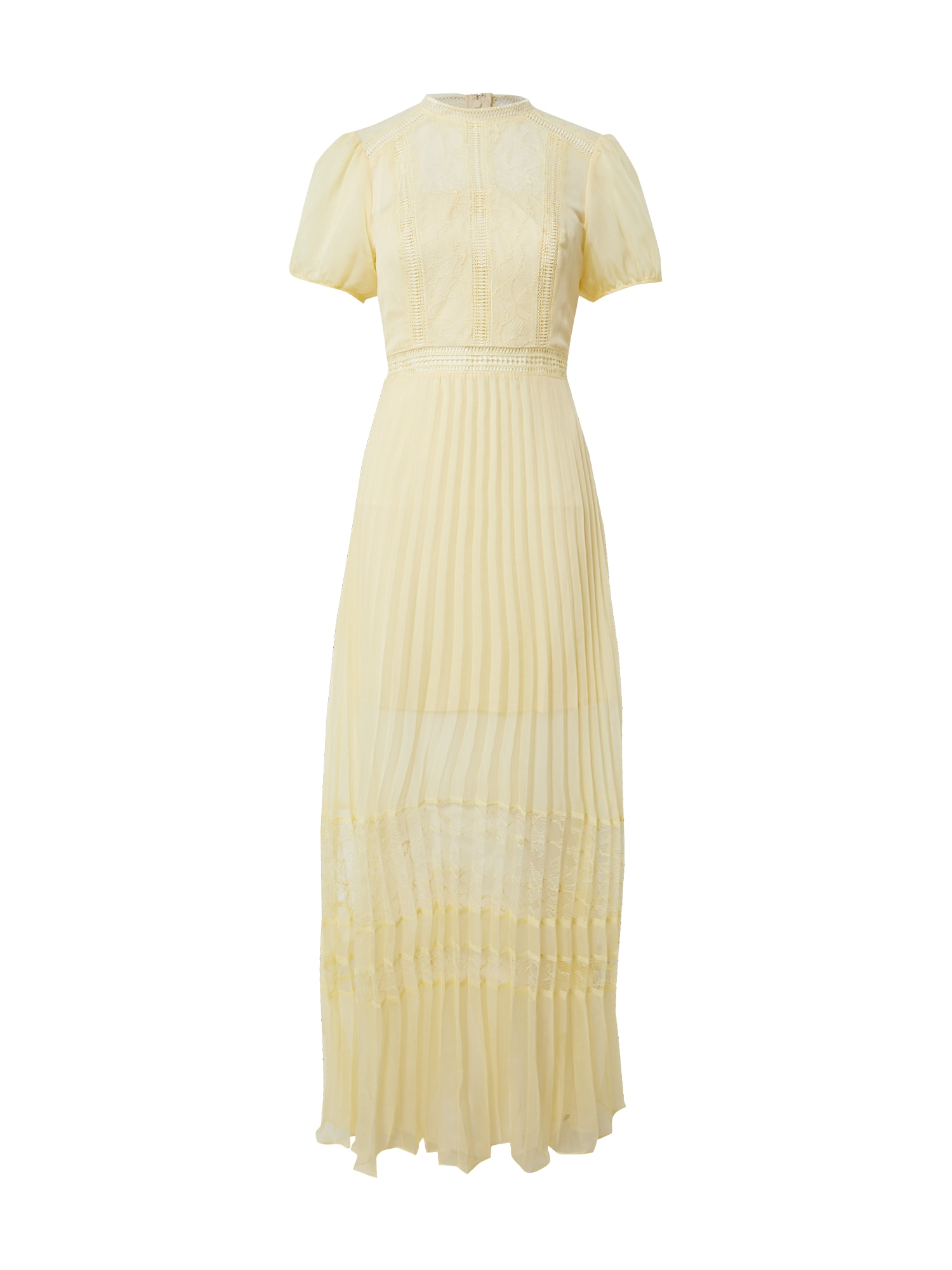 True Decadence Suknelė šviesiai geltona