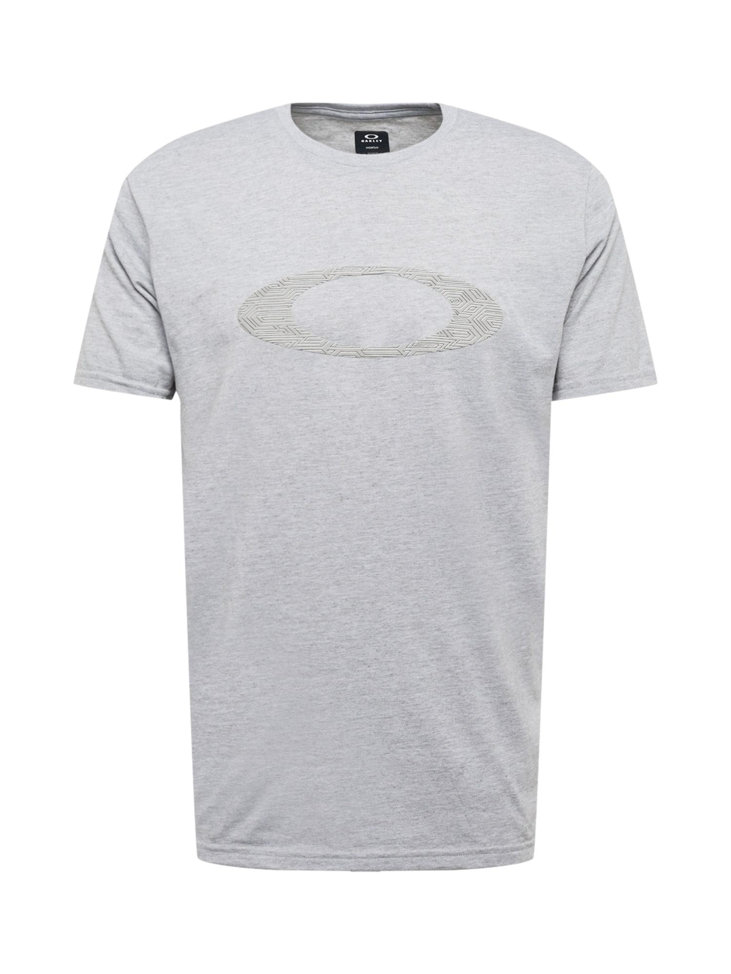 OAKLEY Marškinėliai margai pilka