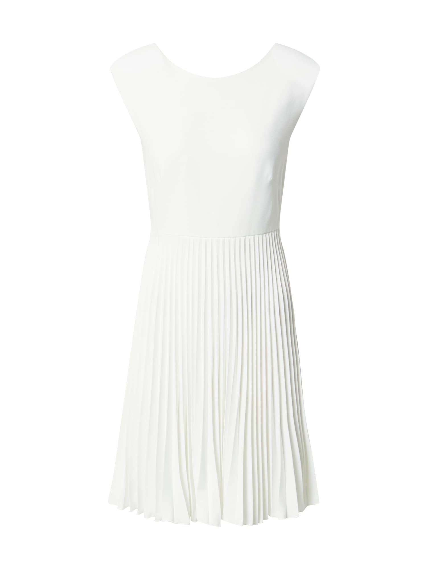 Closet London Kokteilinė suknelė balkšva