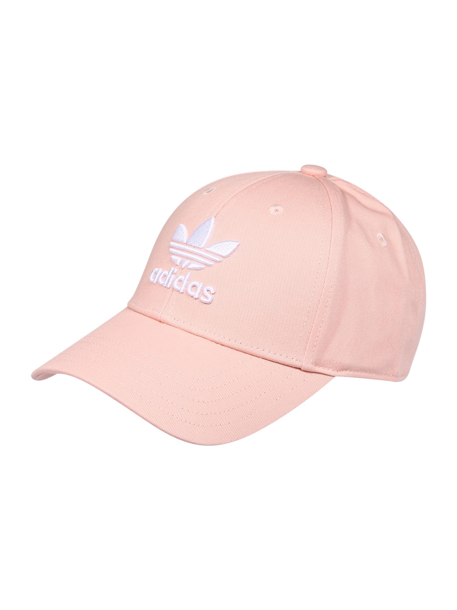 ADIDAS ORIGINALS Kepurė rožių spalva / balta