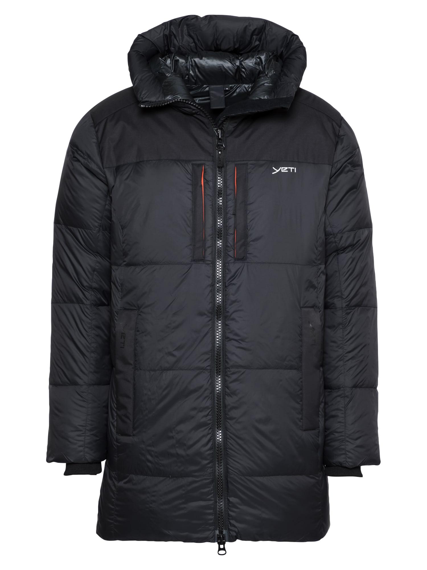 YETI Zimní bunda 'Skansholm'  černá / bílá
