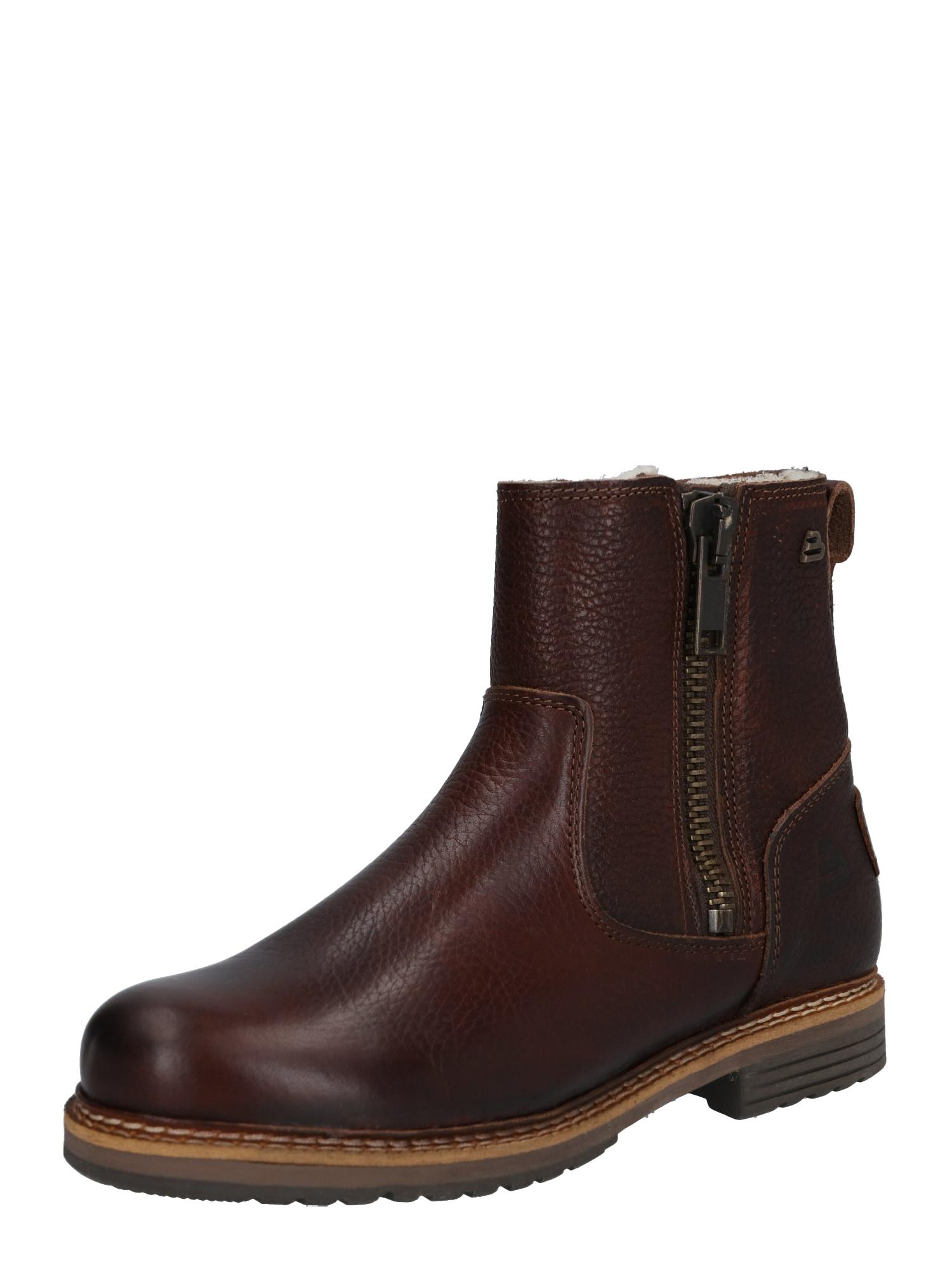BULLBOXER Auliniai batai tamsiai ruda