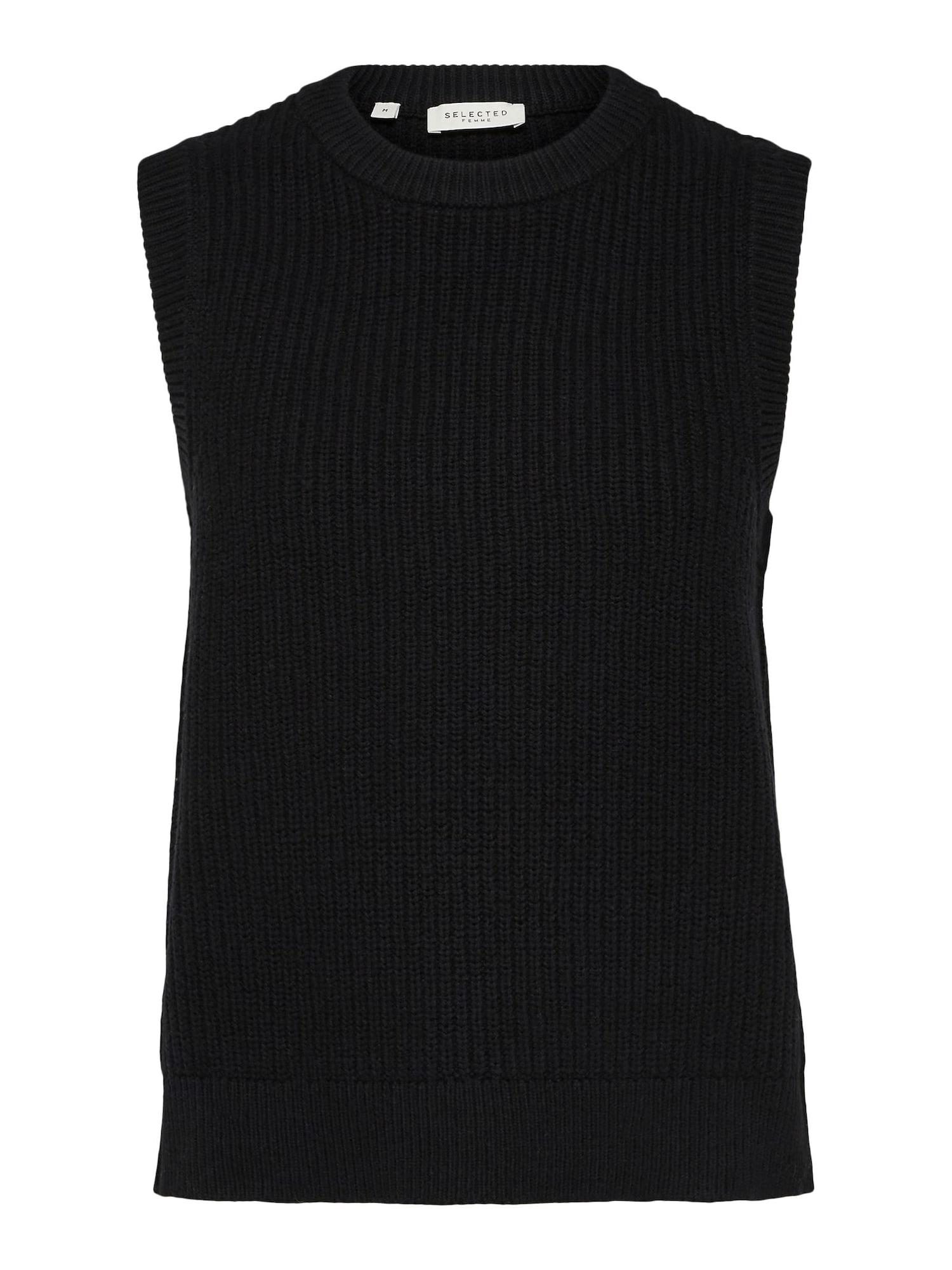 Selected Femme (Petite) Megztinis juoda