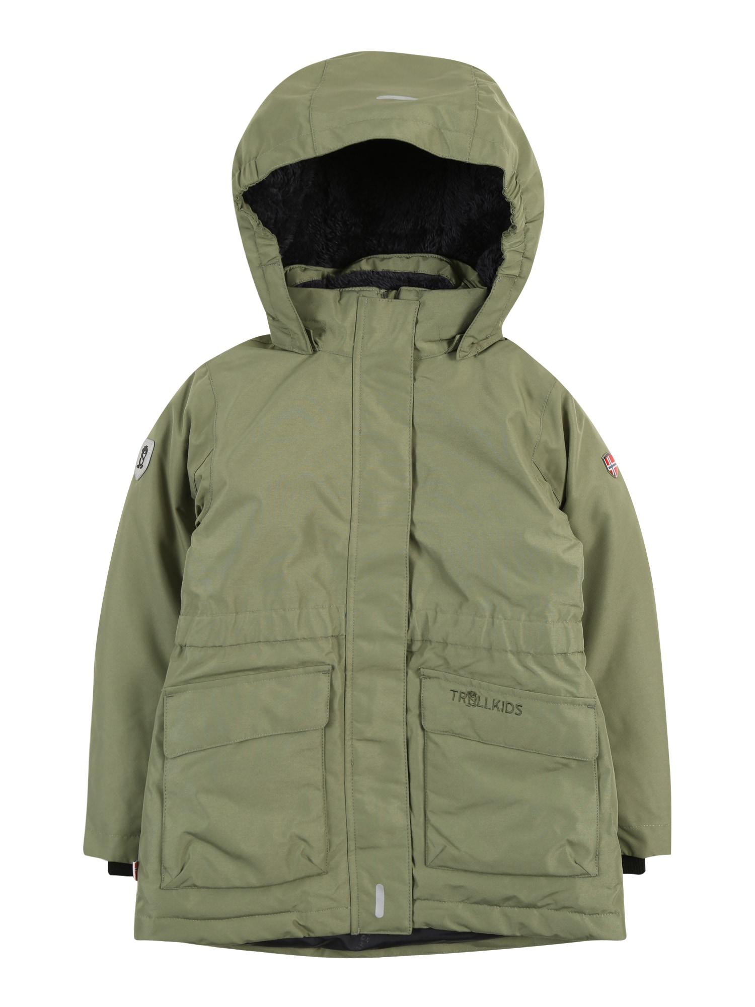 TROLLKIDS Zimní bunda 'Alesund'  khaki