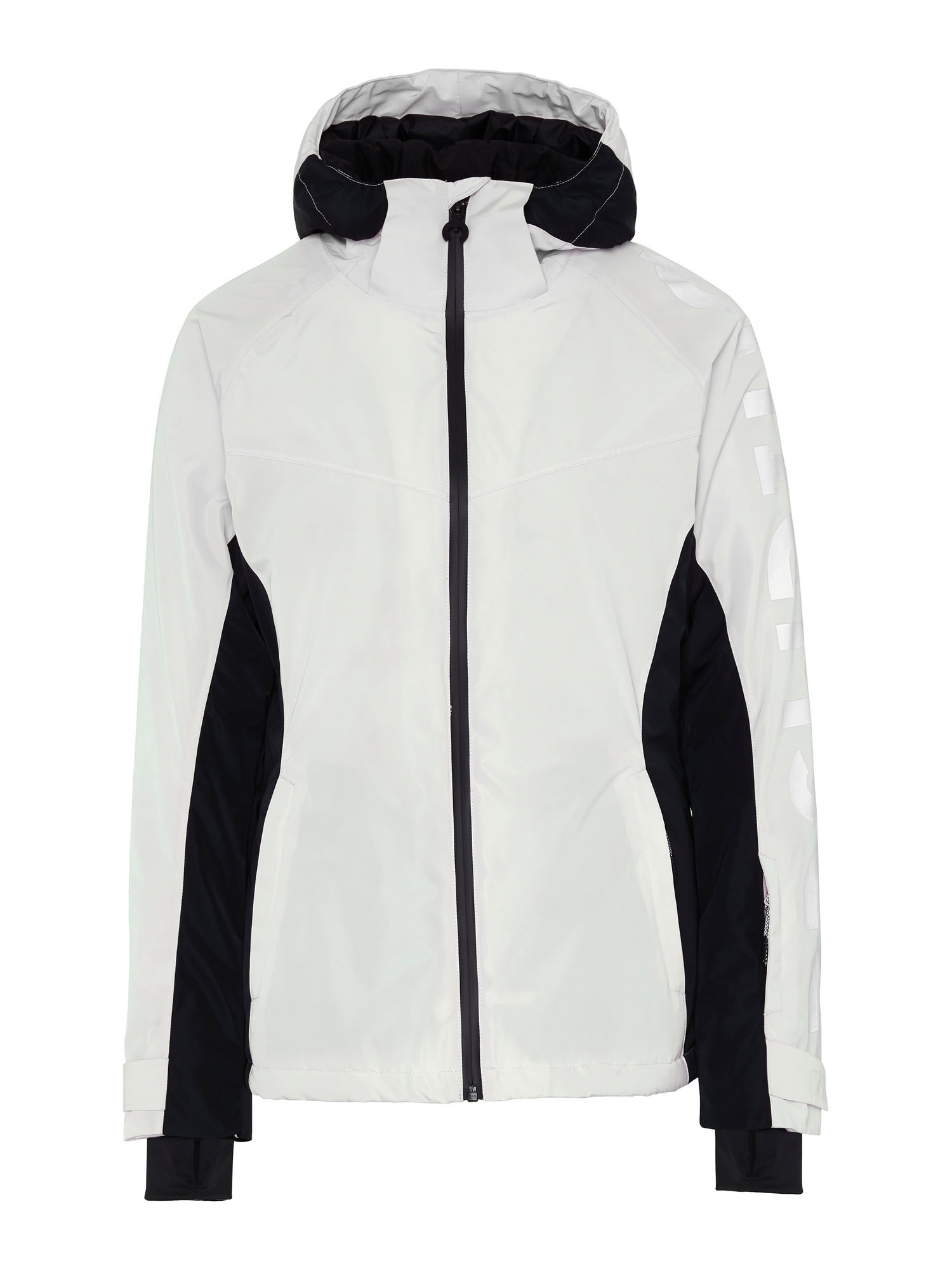 CHIEMSEE Sportovní bunda 'Hilltop'  bílá / černá