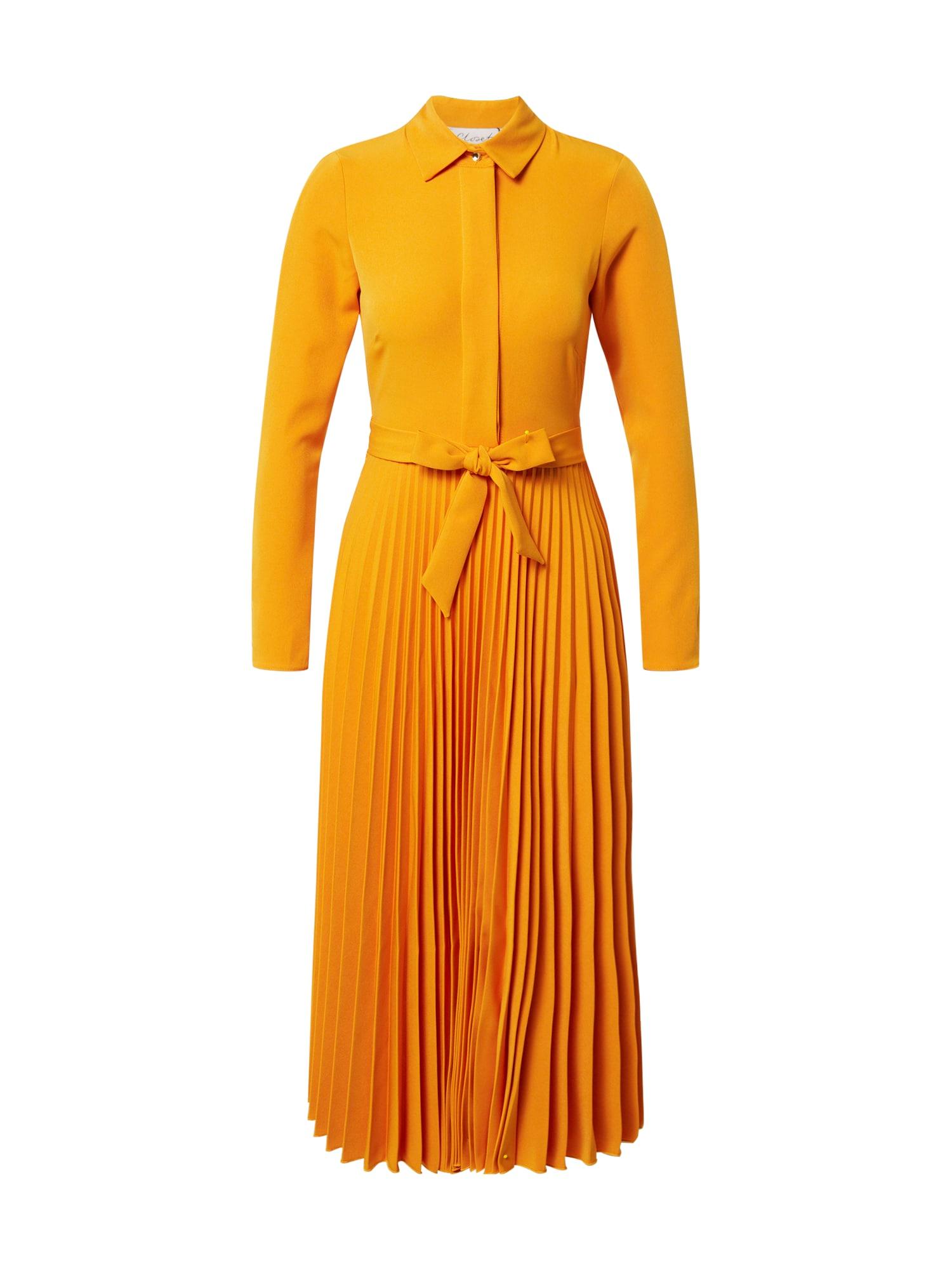 Closet London Palaidinės tipo suknelė oranžinė