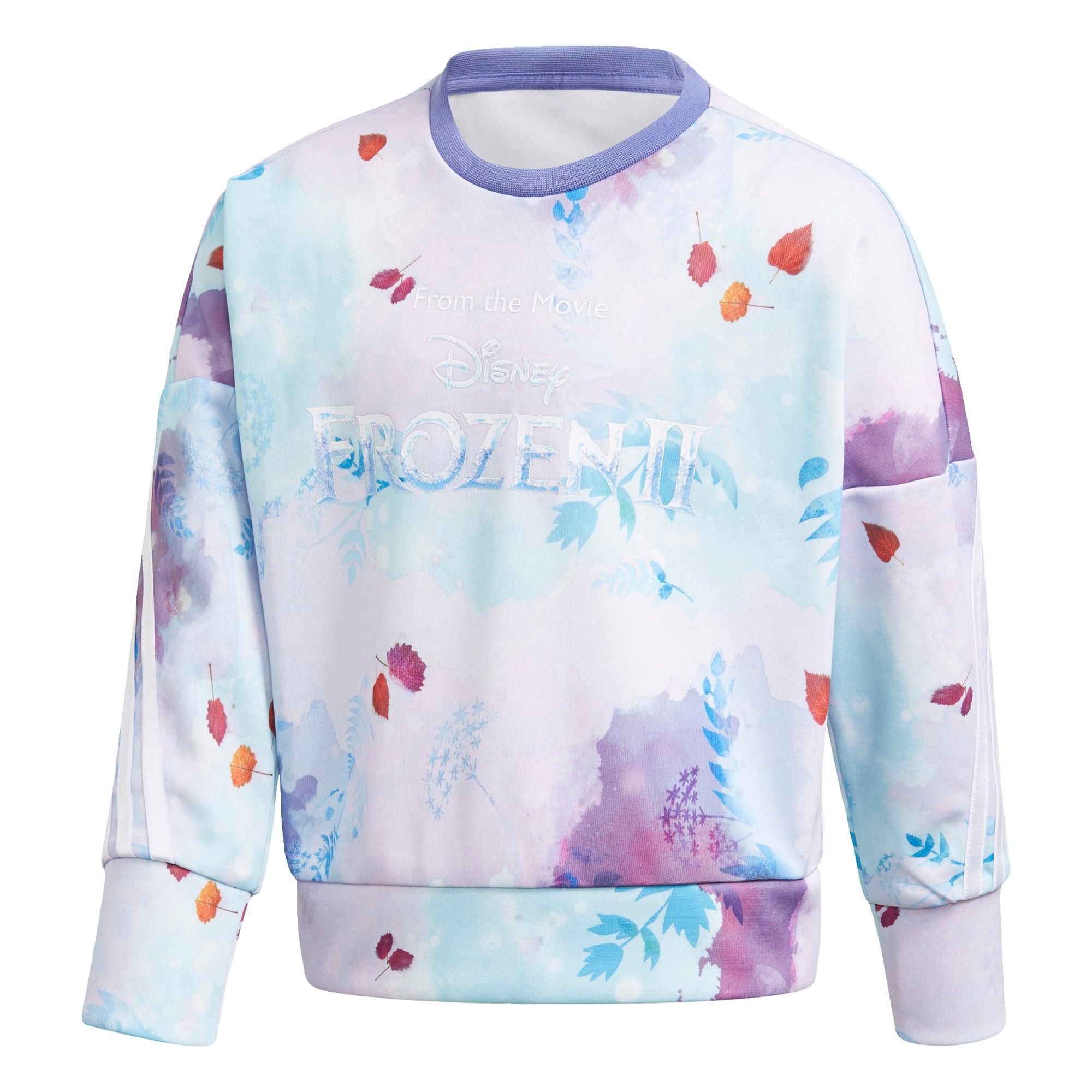 ADIDAS PERFORMANCE Sportinio tipo megztinis 'Disney Frozen' levandų spalva / mišrios spalvos