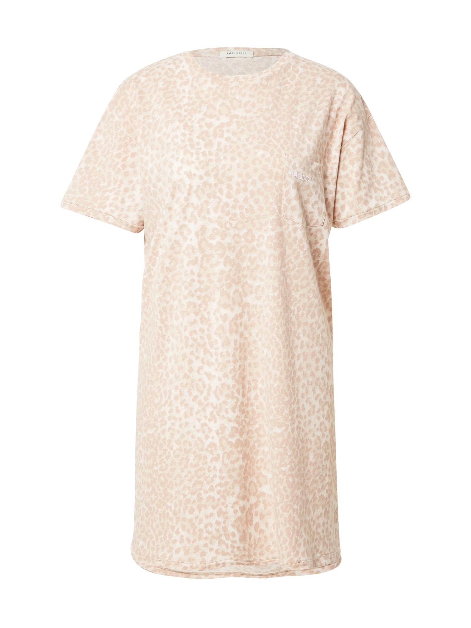 Ragdoll LA Suknelė smėlio spalva / kremo
