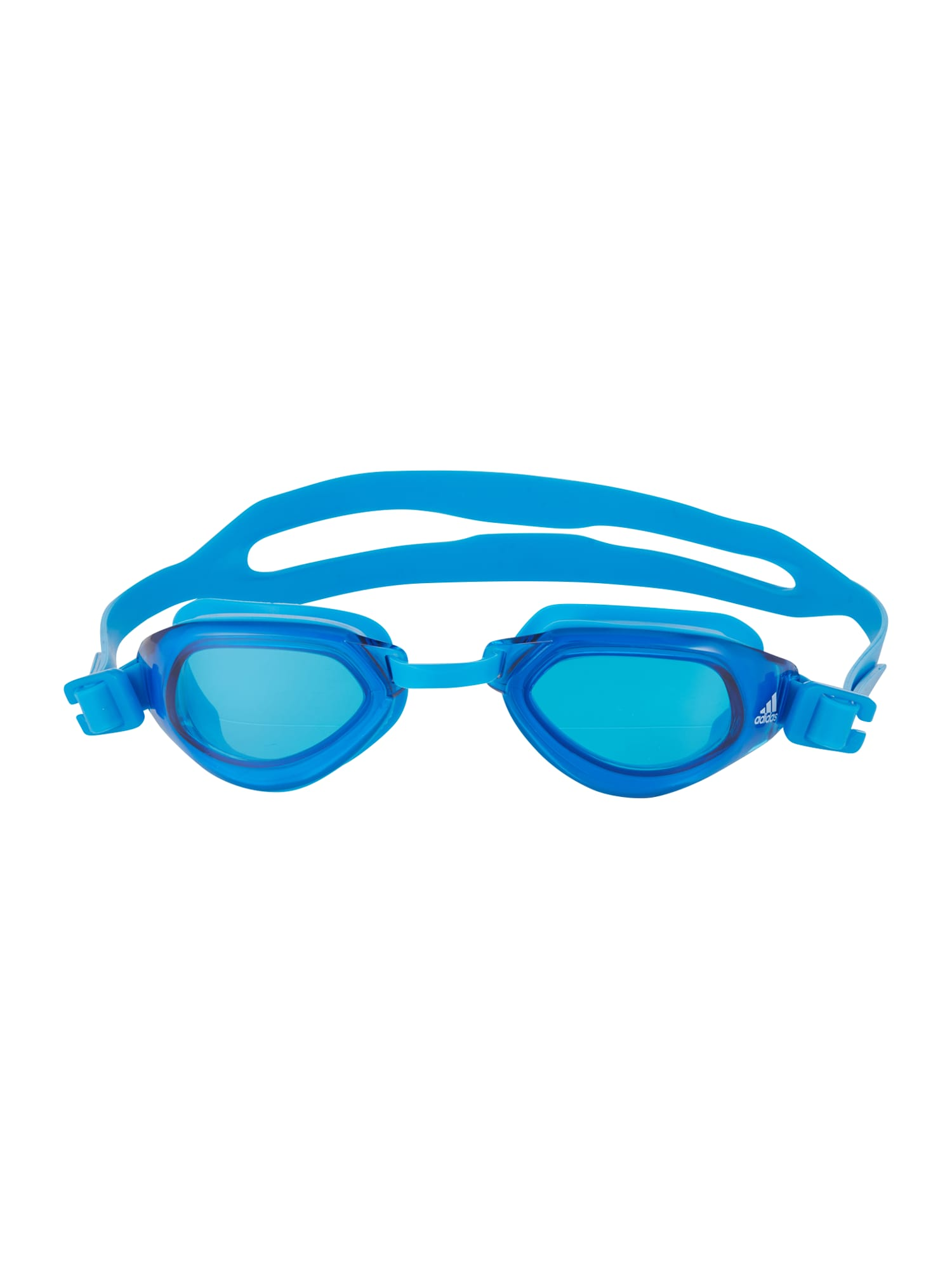 ADIDAS PERFORMANCE Sportiniai akiniai 'PERSISTAR' šviesiai mėlyna / balta