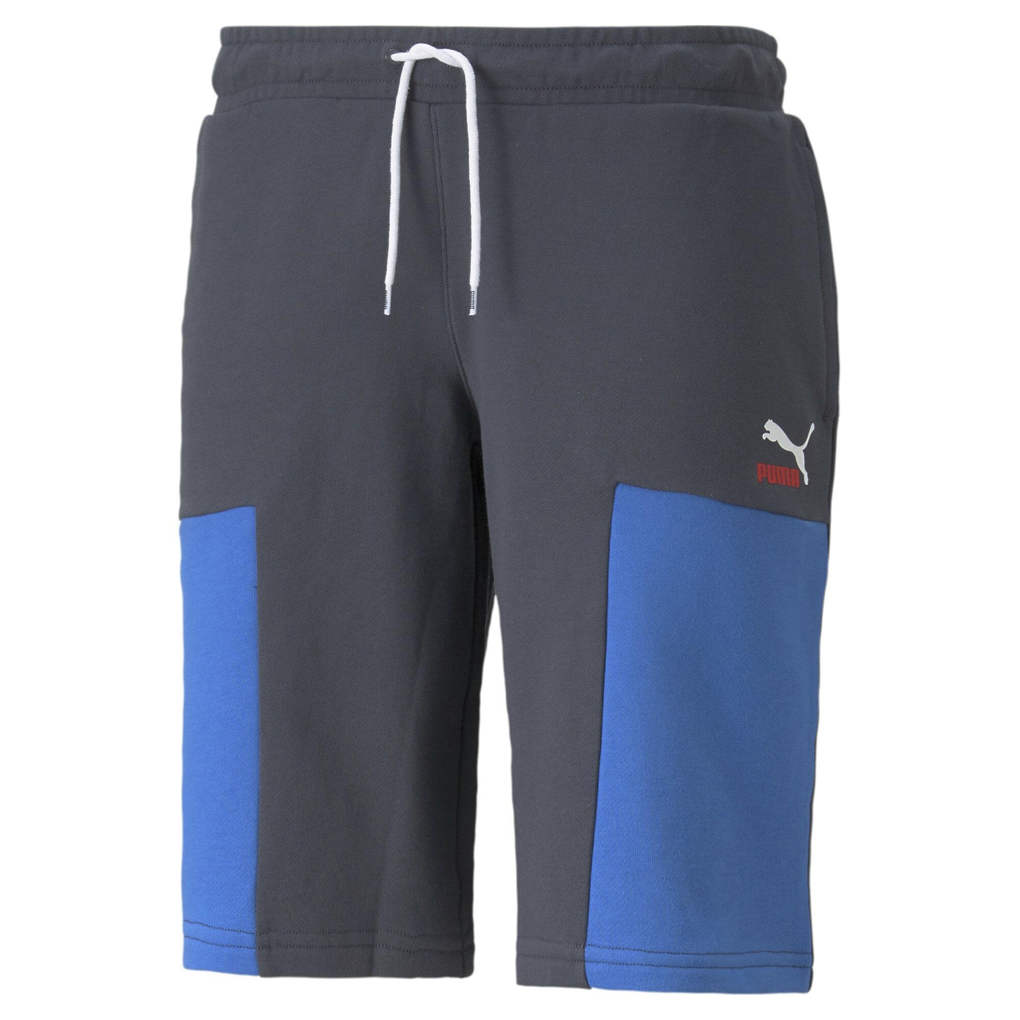 PUMA Funkční kalhoty  modrá / tmavě modrá