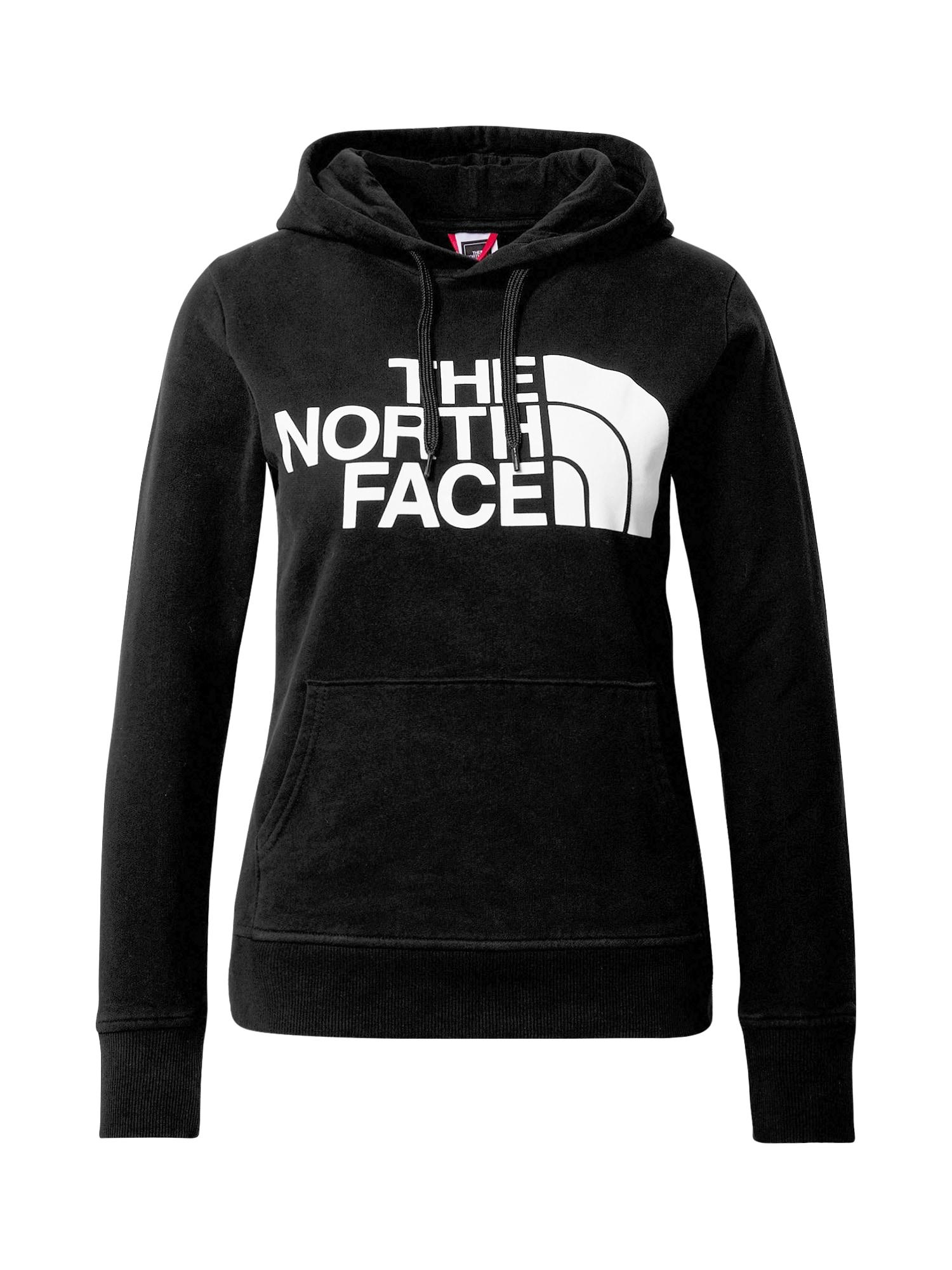 THE NORTH FACE Mikina 'Standard'  bílá / černá