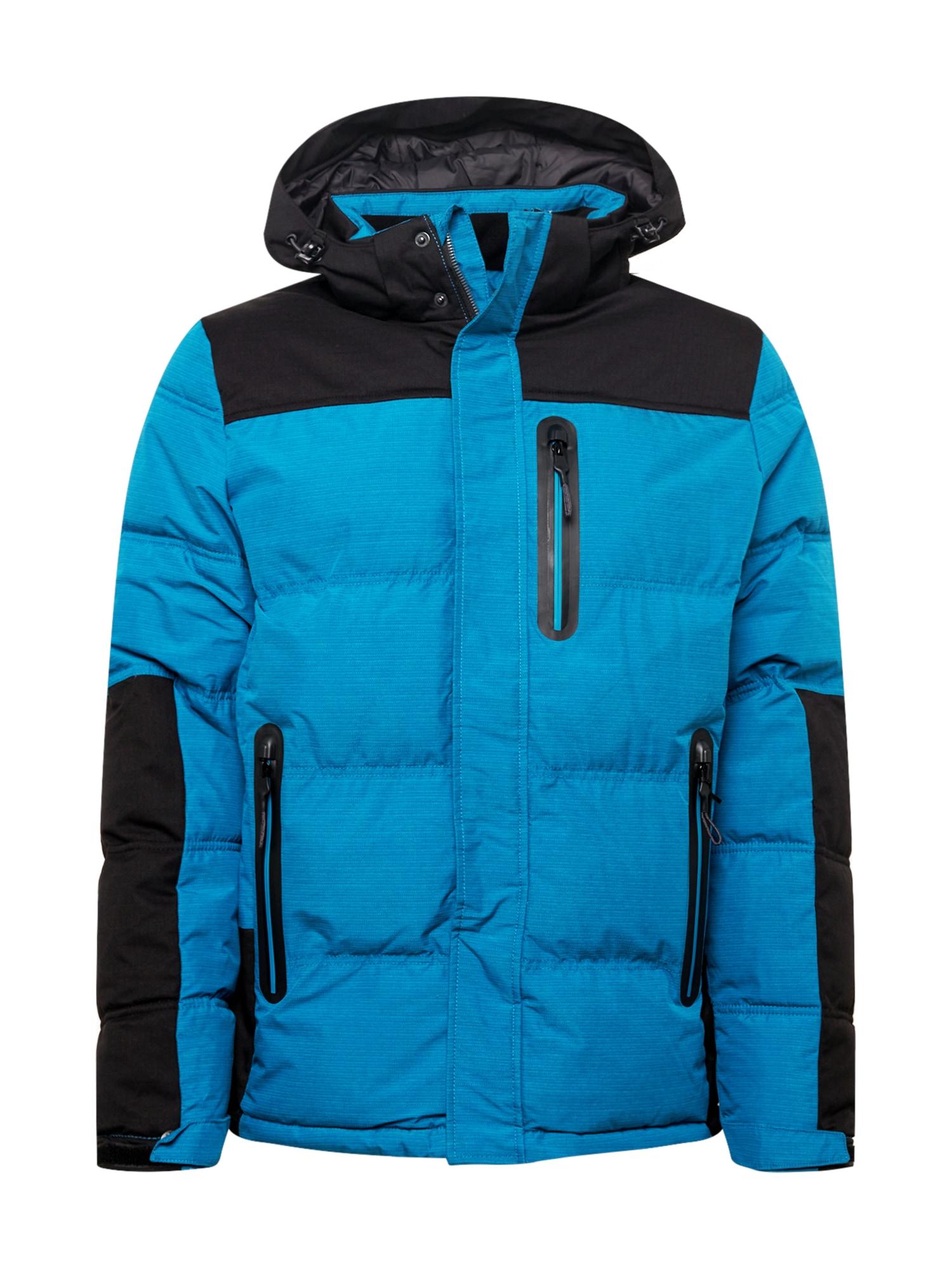 KILLTEC Sportovní bunda  nebeská modř / černá