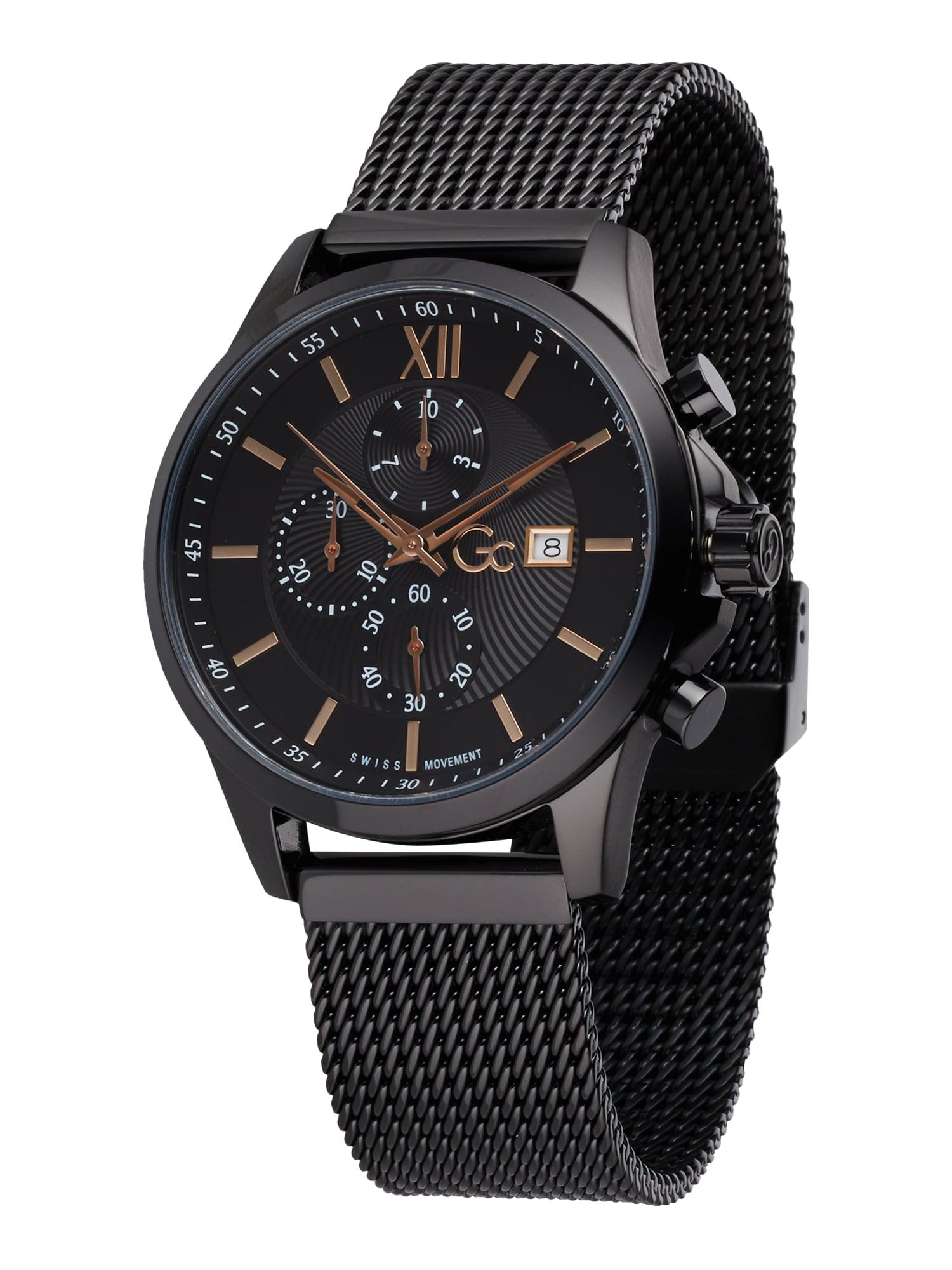 Gc Analoginis (įprasto dizaino) laikrodis 'Executive' juoda