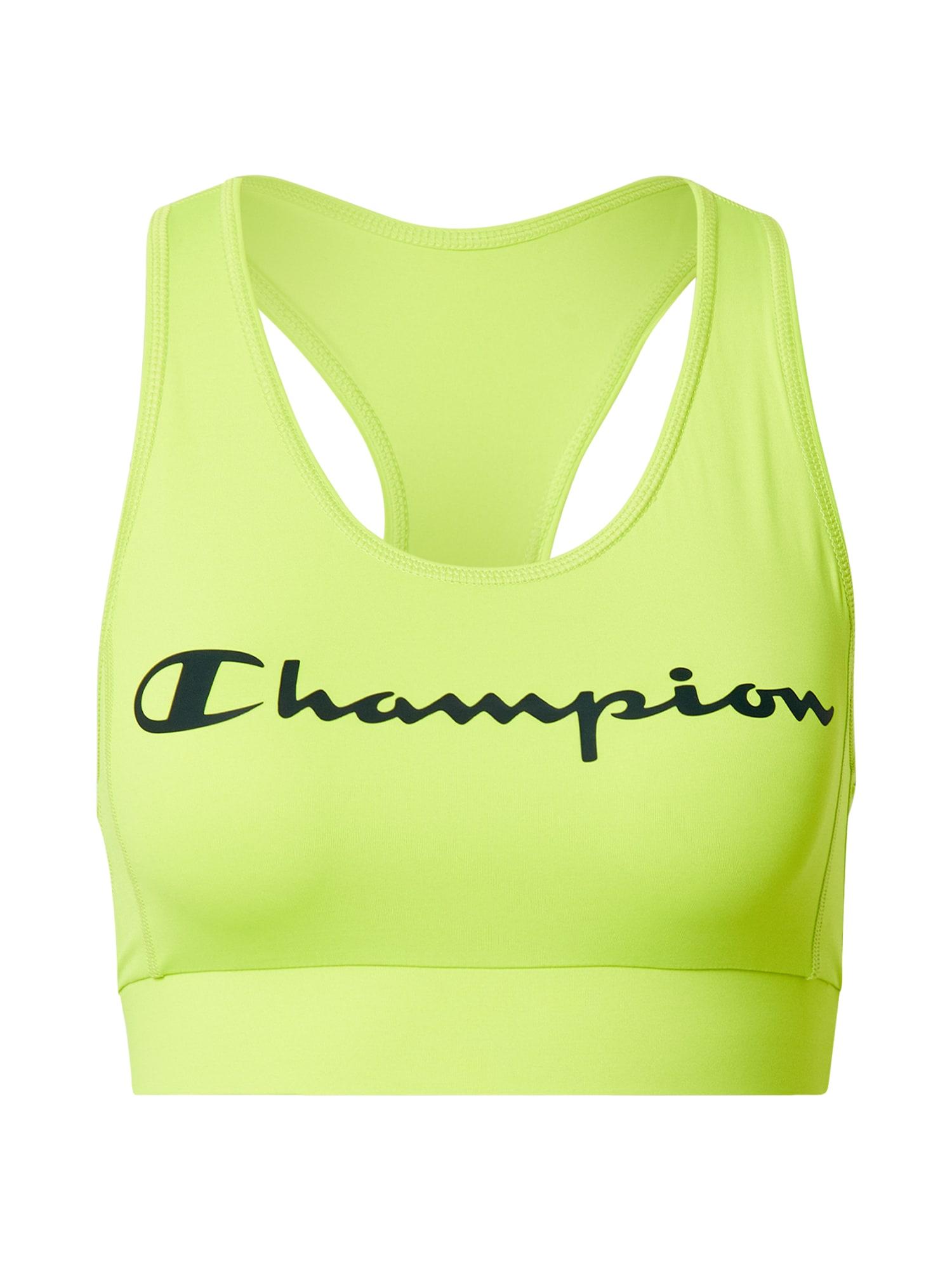 Champion Authentic Athletic Apparel Sportovní podprsenka  zelená