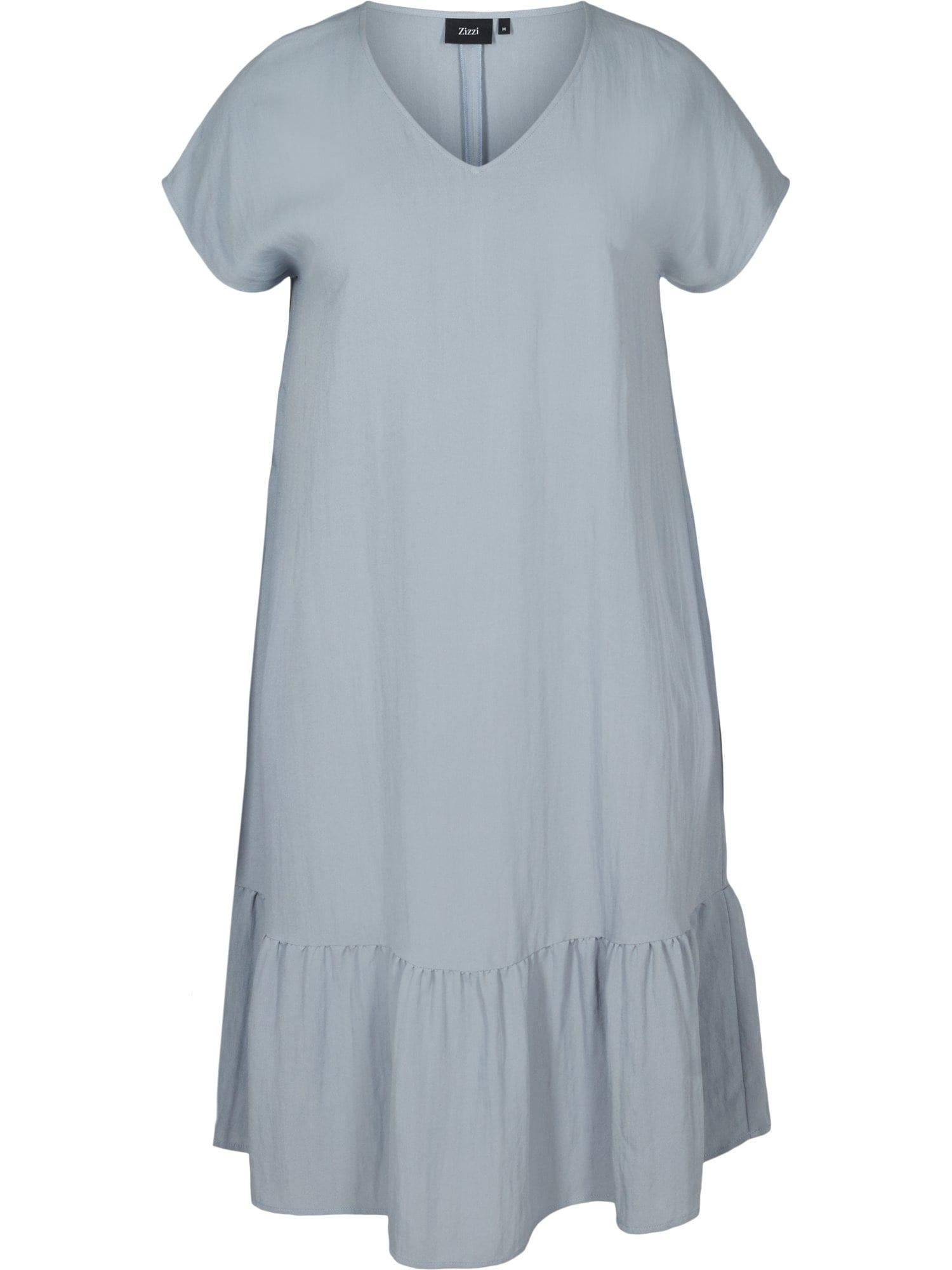 Zizzi Letní šaty 'Vmacy'  kouřově modrá