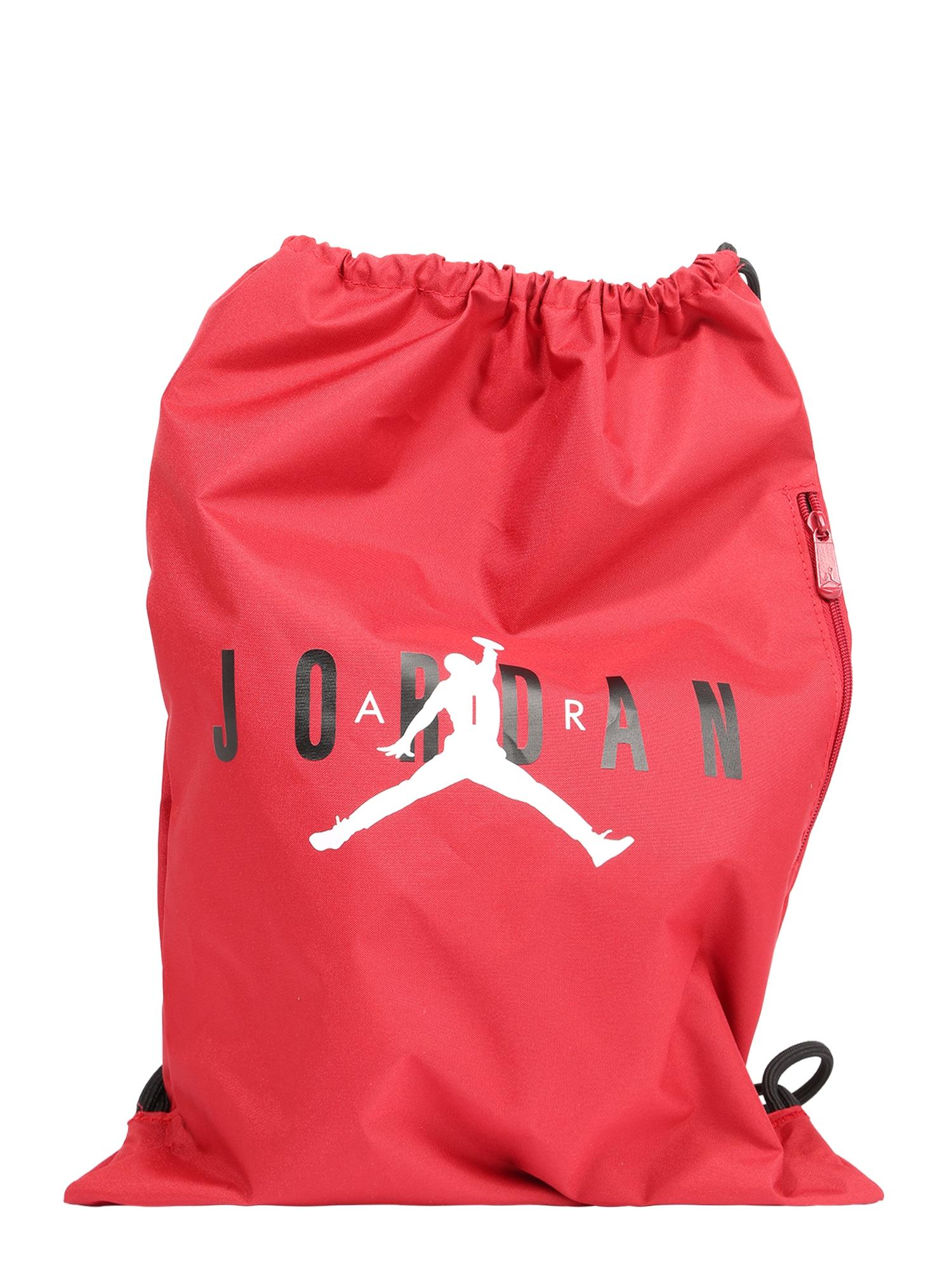 Jordan Sportinis krepšys 'Jan' raudona / juoda / balta