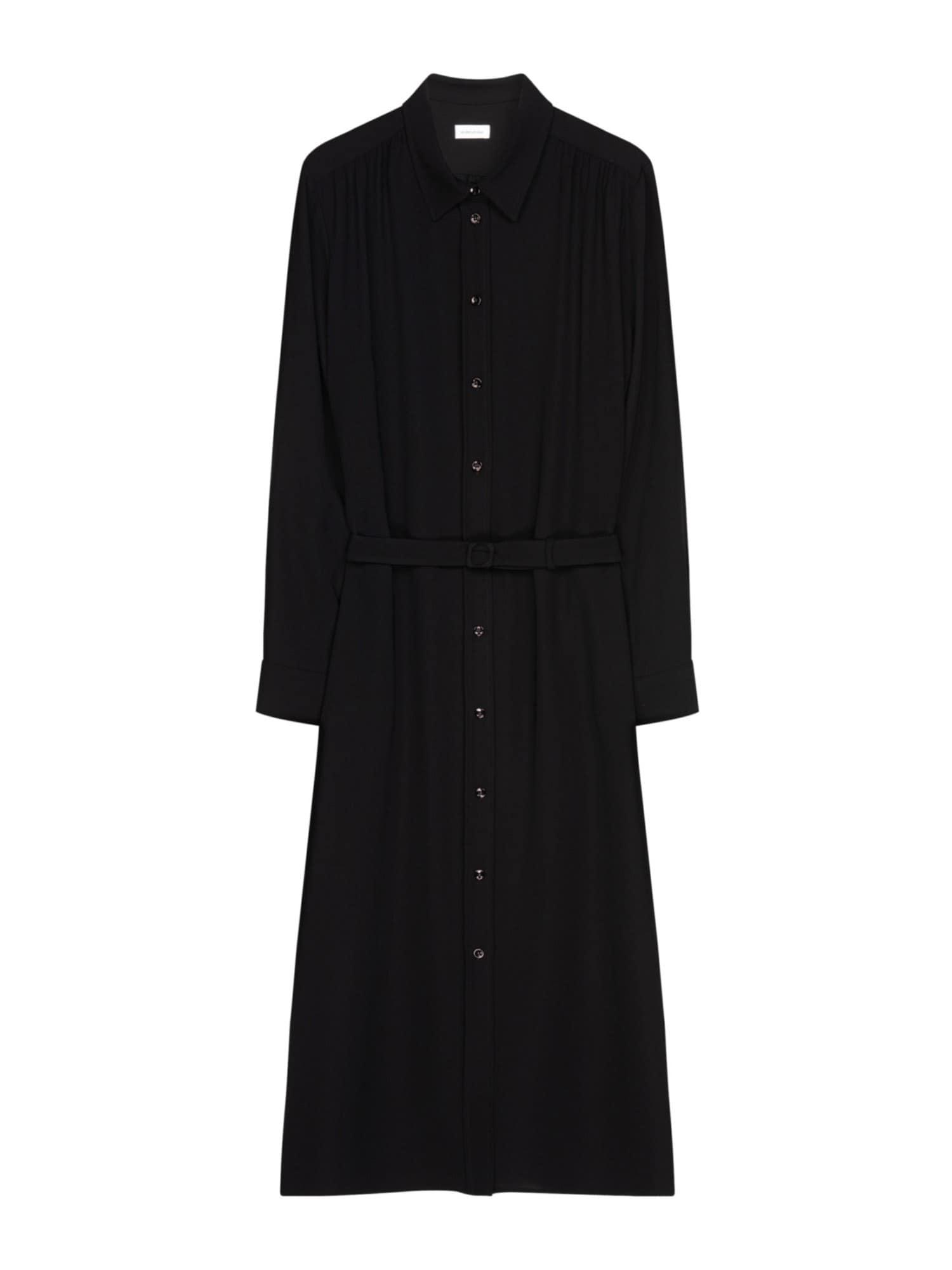 SEIDENSTICKER Košilové šaty  černá
