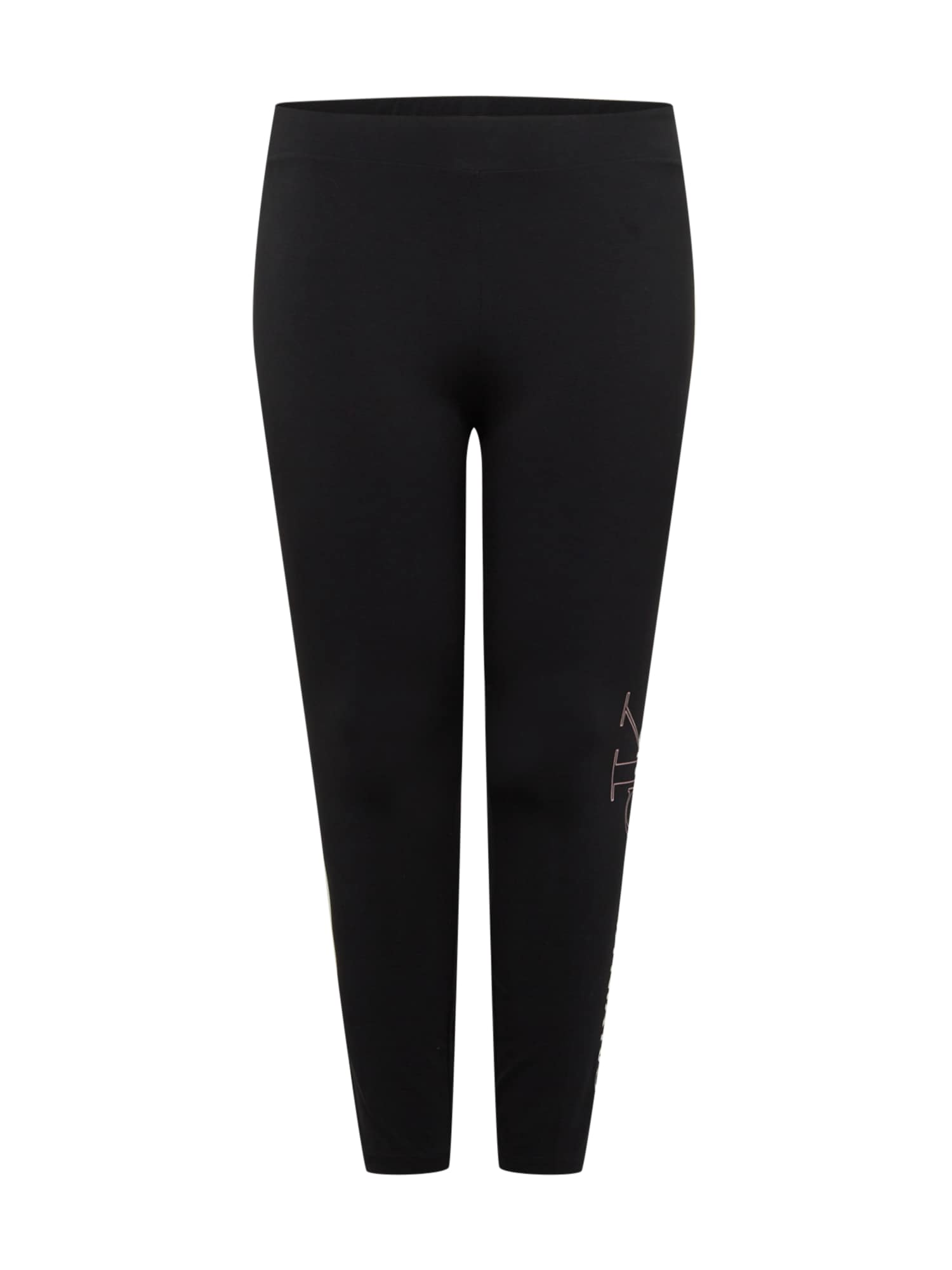 Calvin Klein Jeans Curve Tamprės juoda / balta / pastelinė rožinė